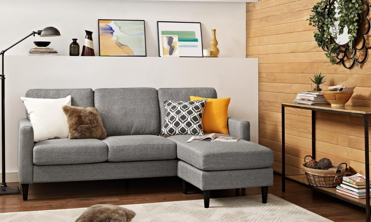 Best Sectional Sofas For Small Spaces - Overstock with Sectional Sofas for Small Places (Image 5 of 10)