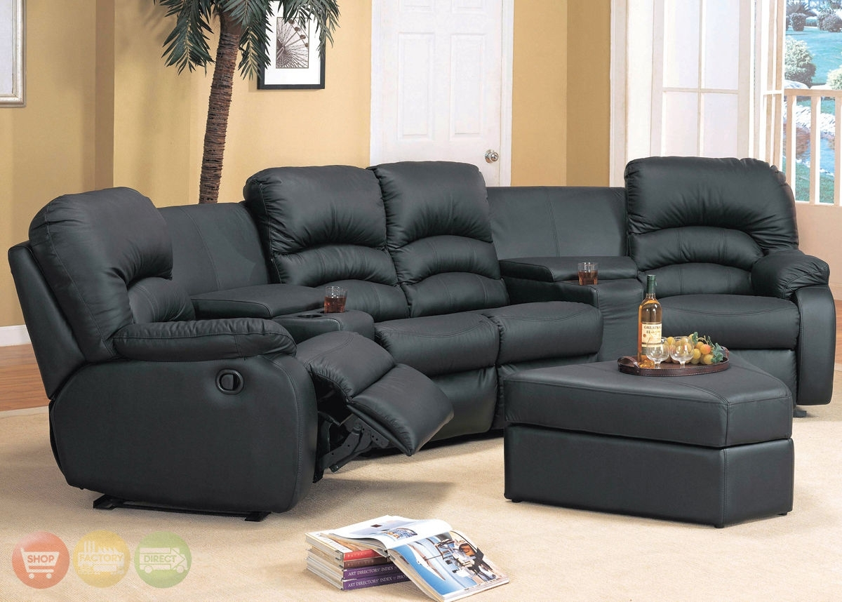 Popular Photo of Sectional Sofas With Recliners For Small Spaces
