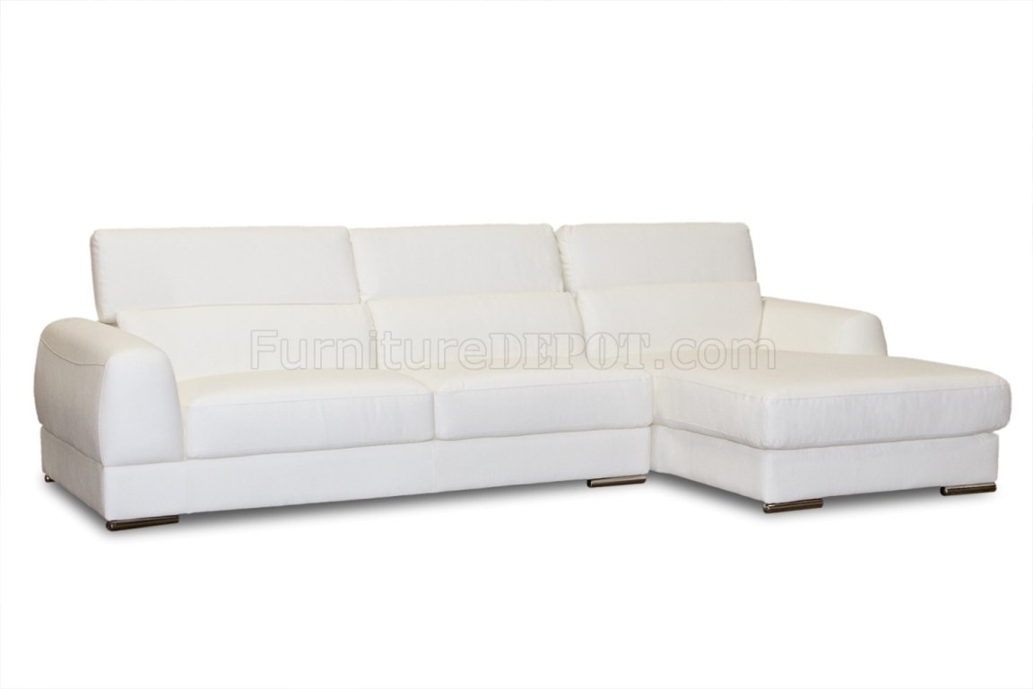 Bonded Leather Modern Chicago Sectional Sofa With Sectional Sofas At Chicago (View 2 of 15)