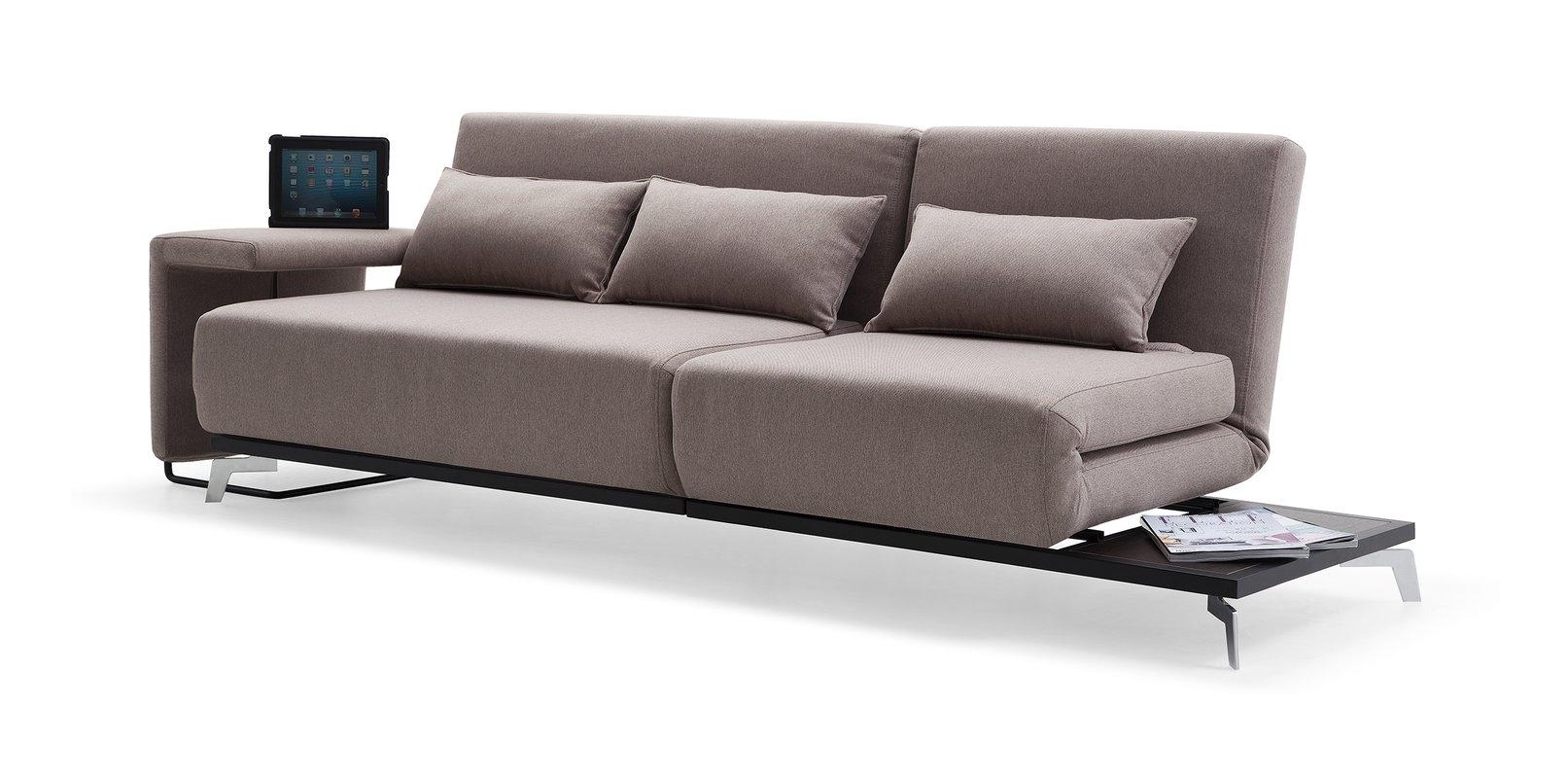 Brayden Studio Demelo Convertible Sofa & Reviews | Wayfair throughout Convertible Sofas (Image 2 of 10)