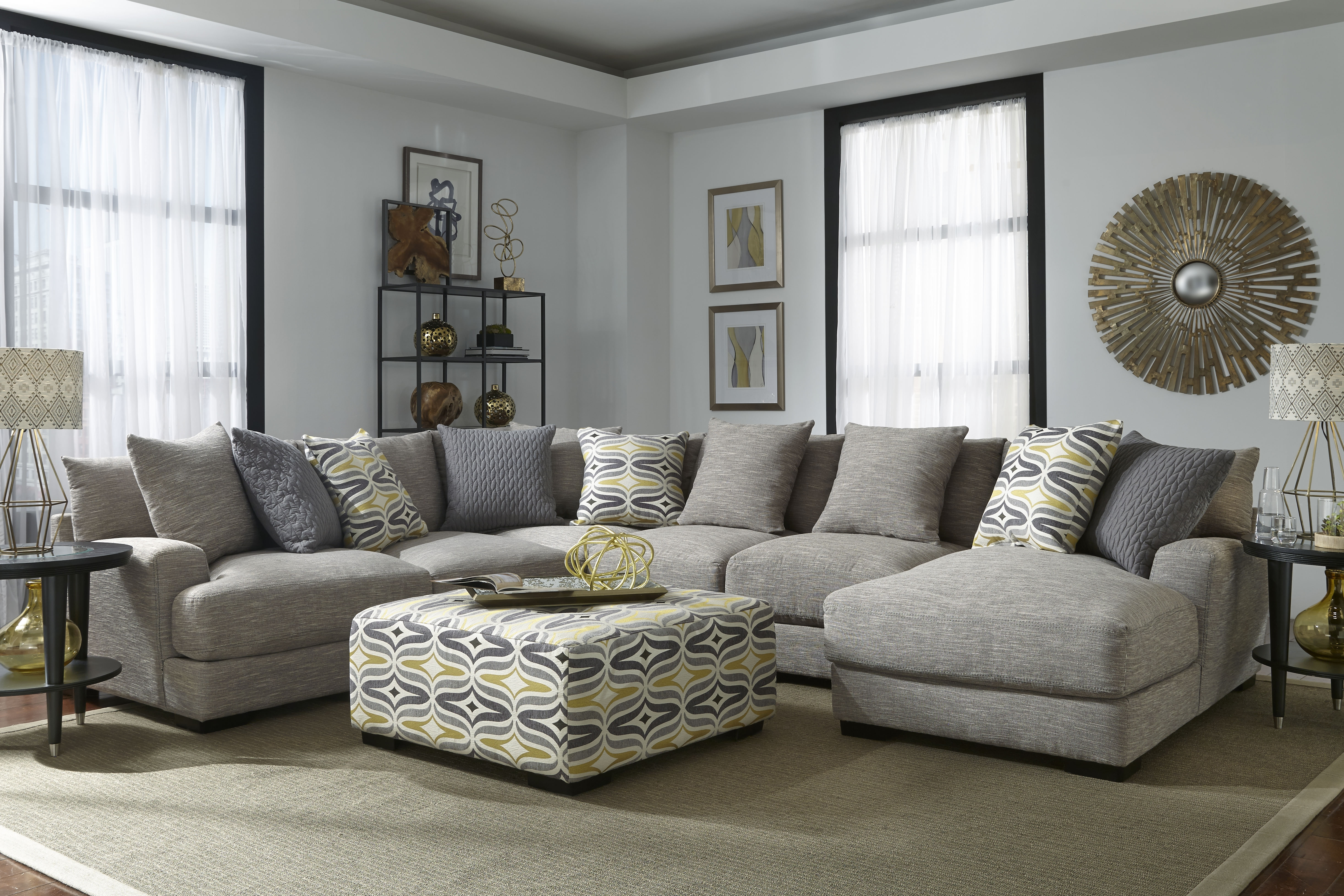 Brendan – Sectional – 808 Sectionals From Franklin At Crowley Furniture For Kansas City Mo Sectional Sofas (View 5 of 10)