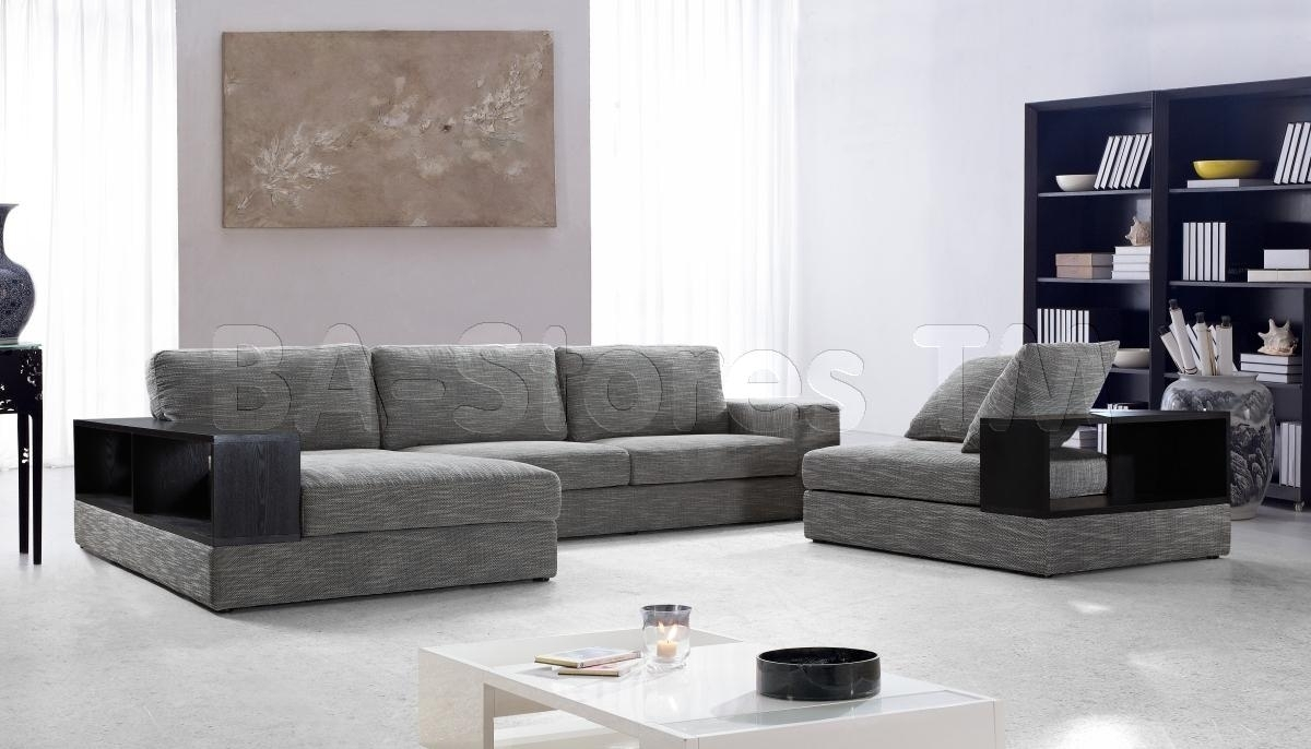 Brilliant Modern Microfiber Sectional Sofa - Mediasupload with regard to Modern Microfiber Sectional Sofas (Image 1 of 10)