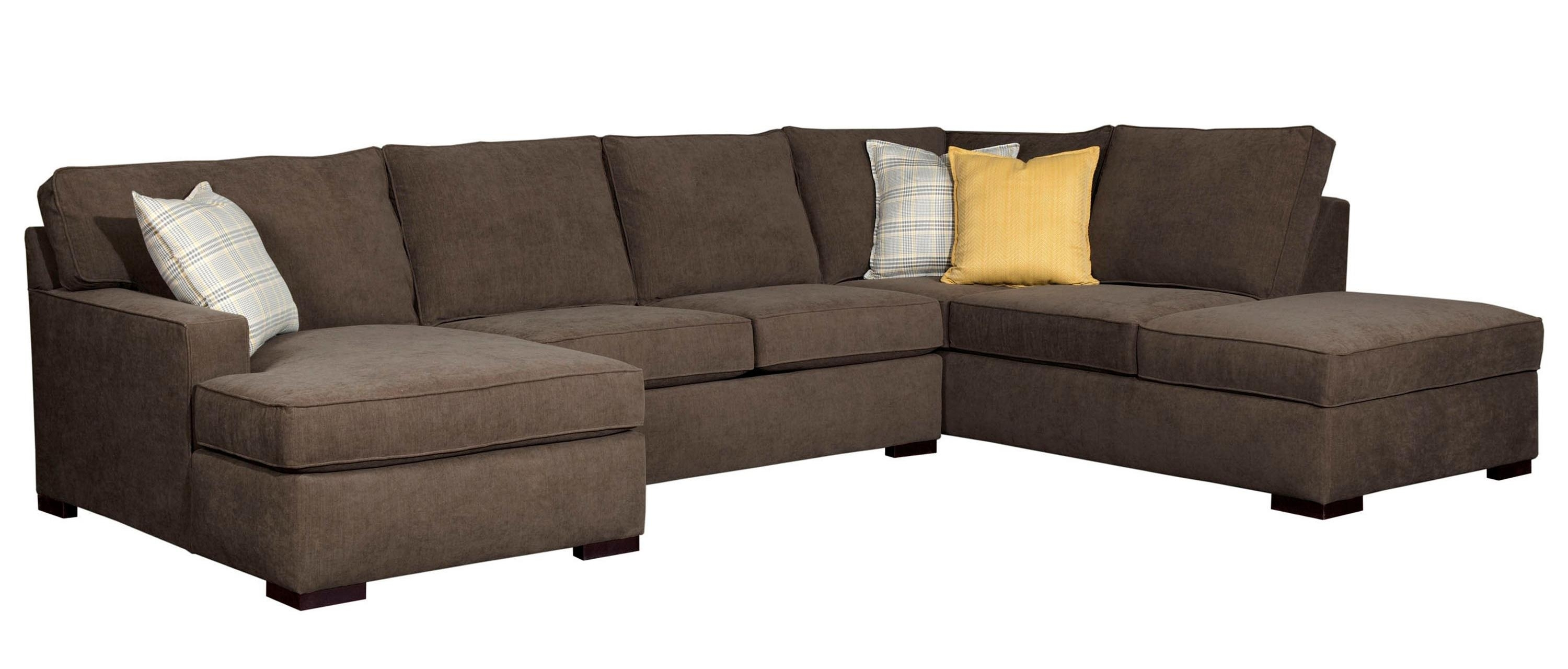 Broyhill Furniture Raphael Contemporary Sectional Sofa With Laf Regarding Sam Levitz Sectional Sofas (View 6 of 10)
