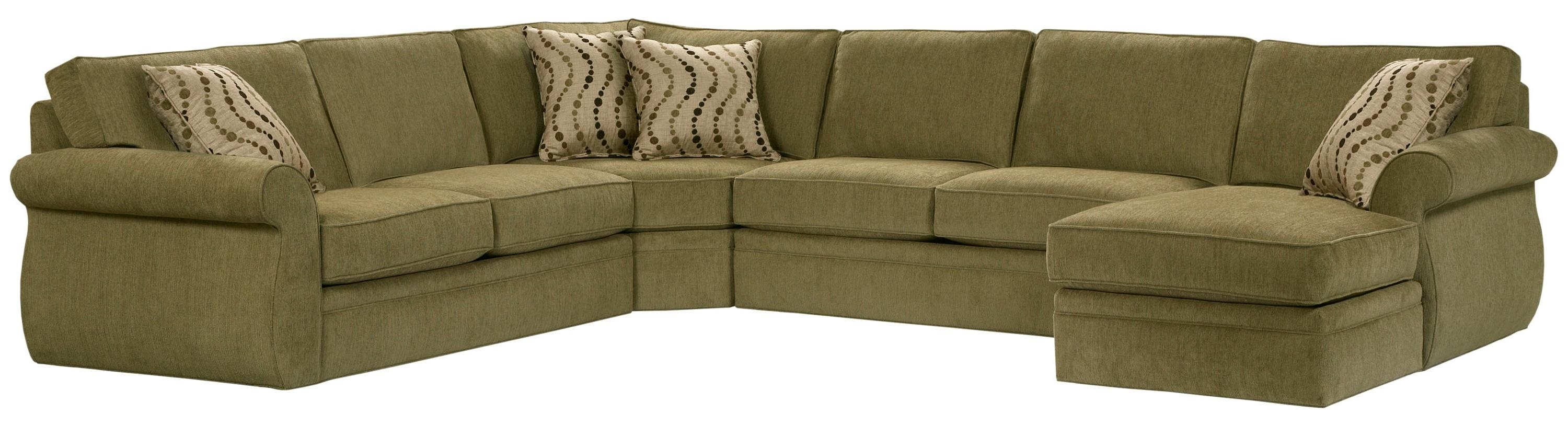 Broyhill Furniture Veronica Right Arm Facing Customizable Chaise Throughout Sectional Sofas At Broyhill (View 5 of 15)