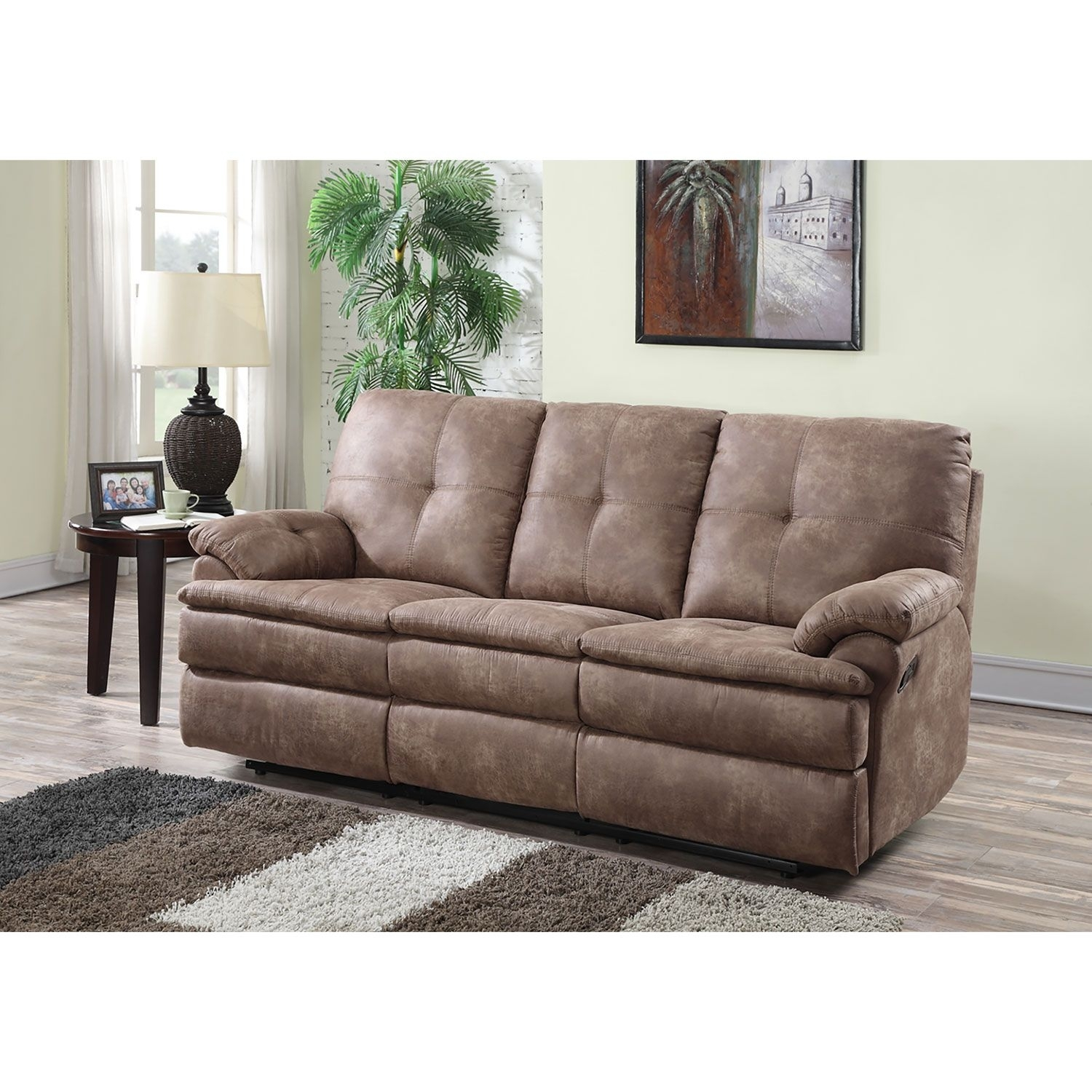 Buck Fabric Reclining Sofa – Sam's Club | Home Furniture Ideas For Sectional Sofas At Sam's Club (View 4 of 15)