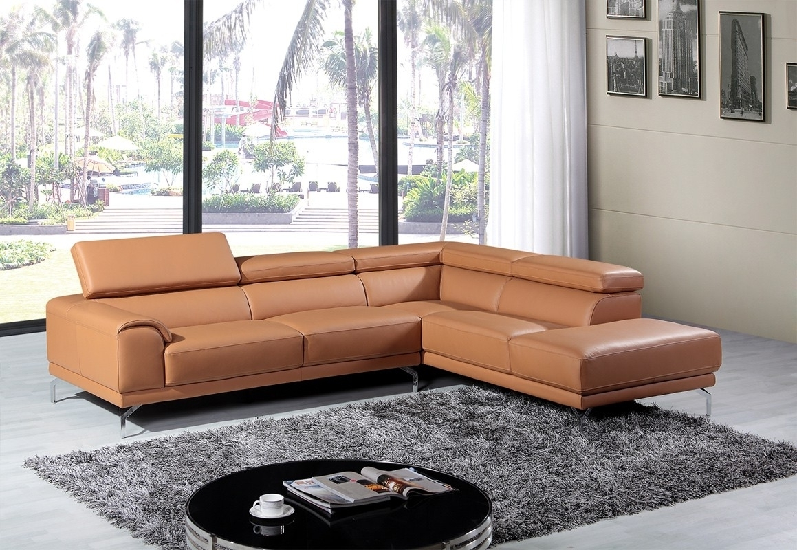 Camel Color Leather Sectional Sofa • Leather Sofa pertaining to Camel Colored Sectional Sofas (Image 2 of 10)