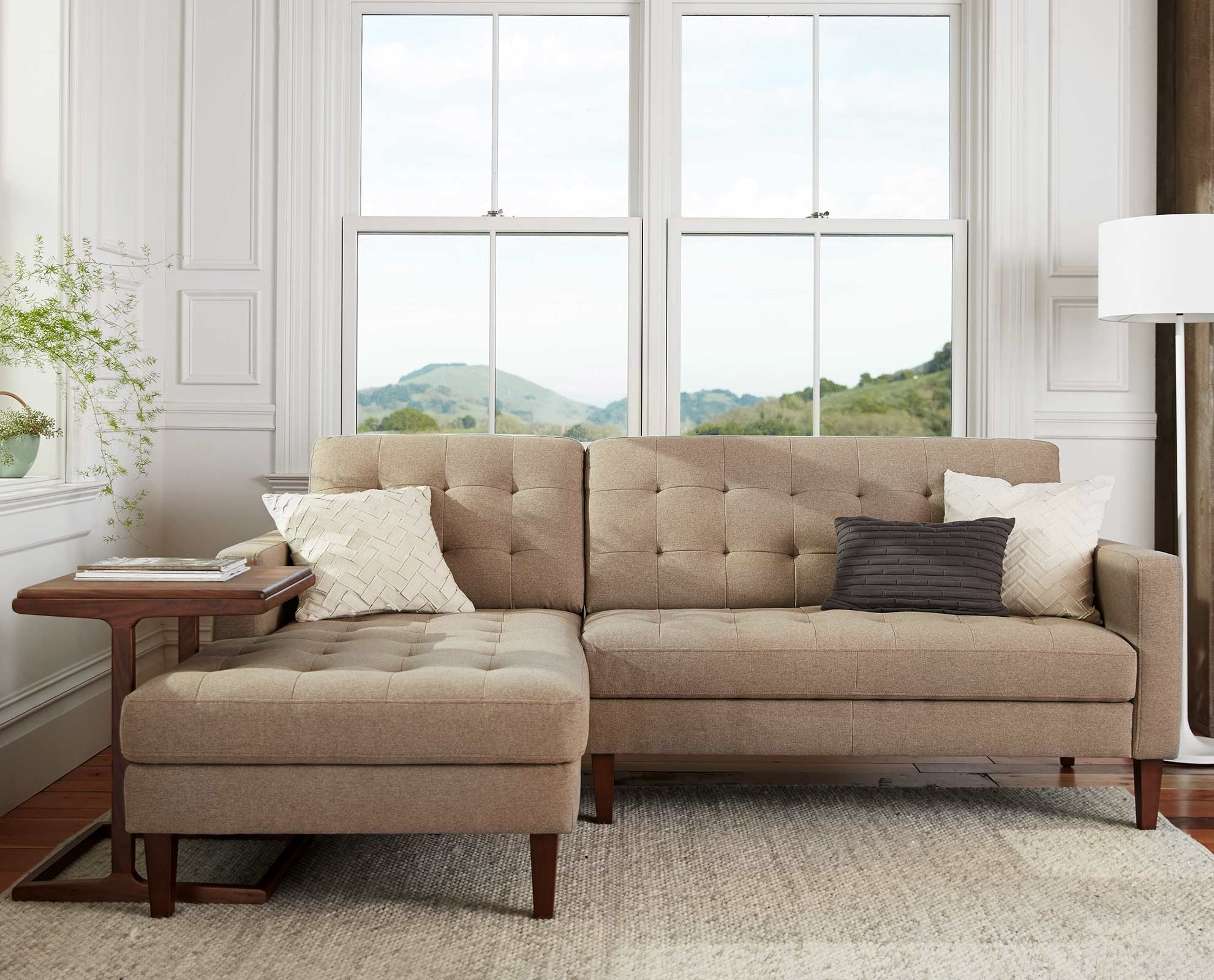 Camilla Chaise Sectional | New House Decor | Pinterest | Upholstery with regard to Dania Sectional Sofas (Image 2 of 10)