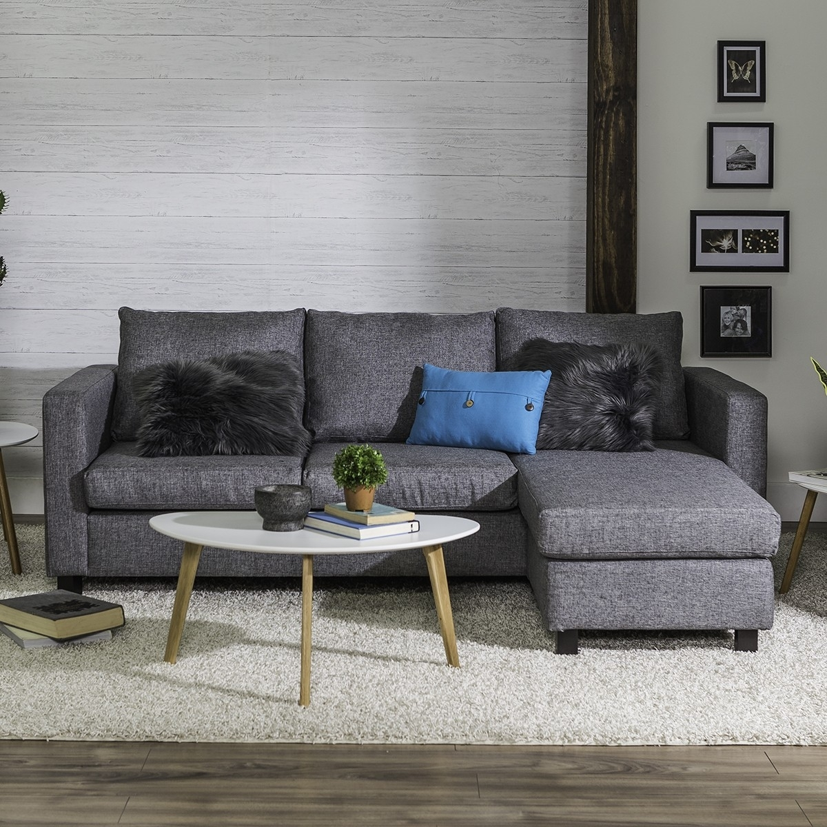 Casa Corner Sofa (Grey) with Jysk Sectional Sofas (Image 3 of 10)