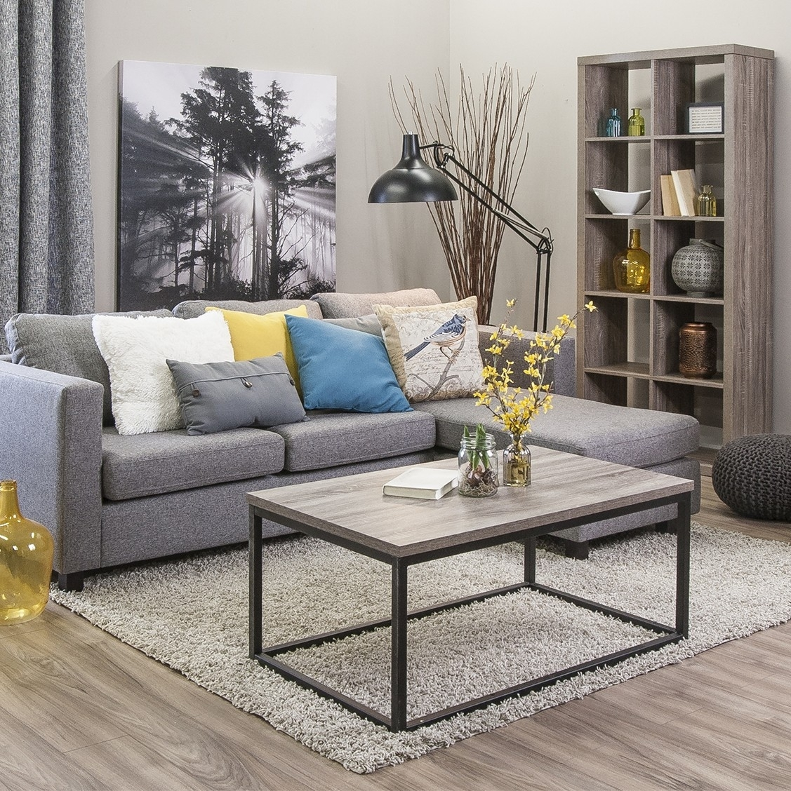 Casa Corner Sofa (Grey) with regard to Jysk Sectional Sofas (Image 4 of 10)
