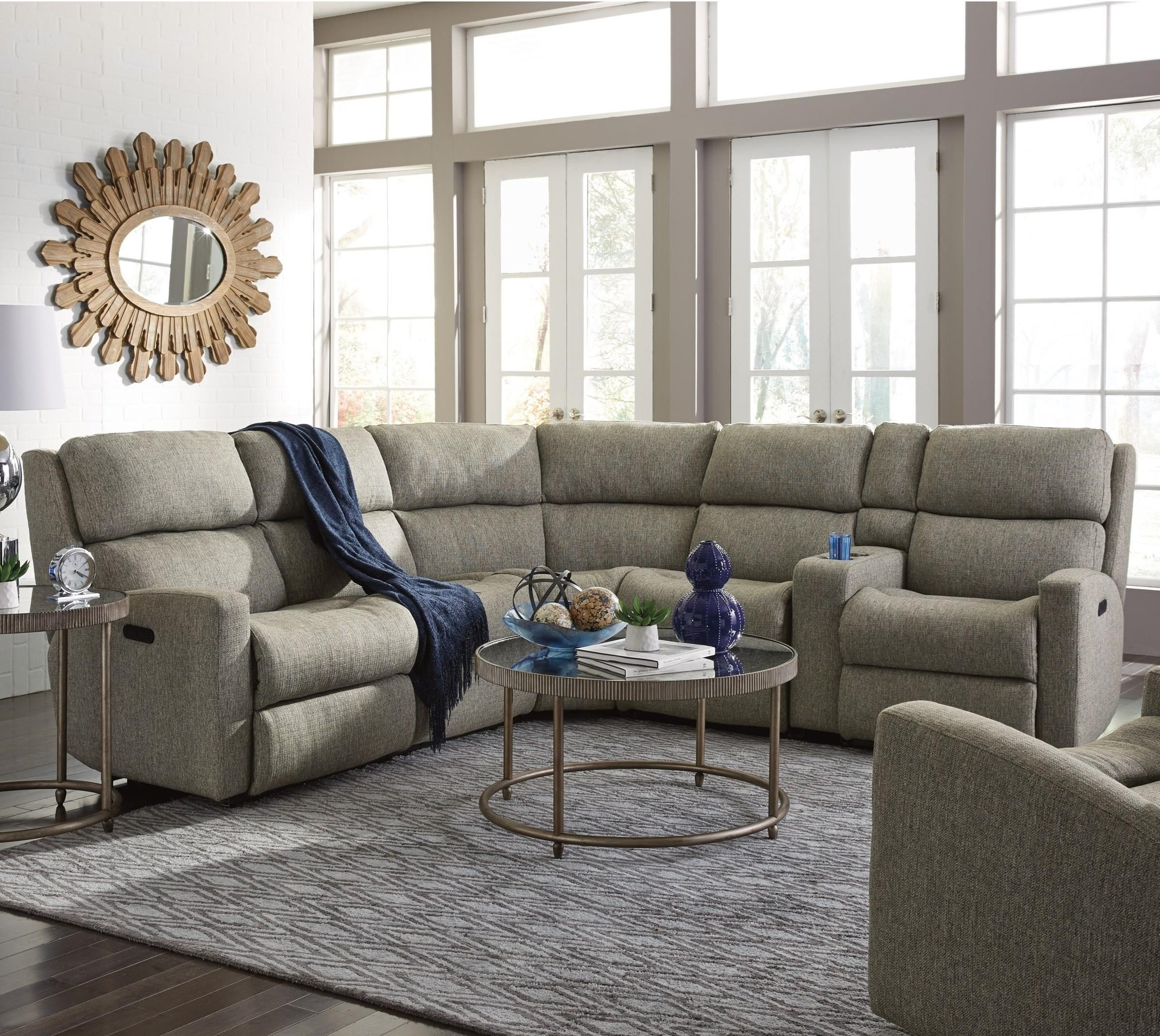 Catalina 6 Pc Reclining Sectional Sofaflexsteel   Fabulous Pertaining To Hawaii Sectional Sofas (View 8 of 10)