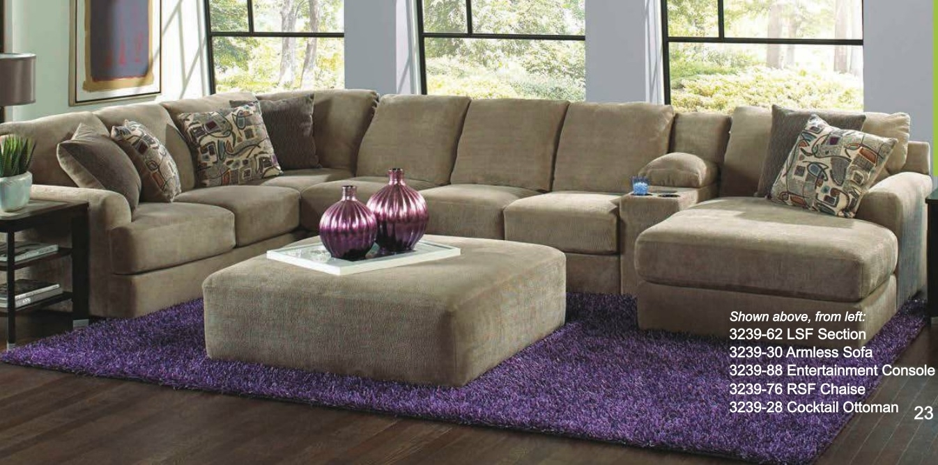 Catnapper 4 Piece Malibu Sectional Set Made In Usa – Usa Furniture Regarding Made In Usa Sectional Sofas (View 3 of 10)