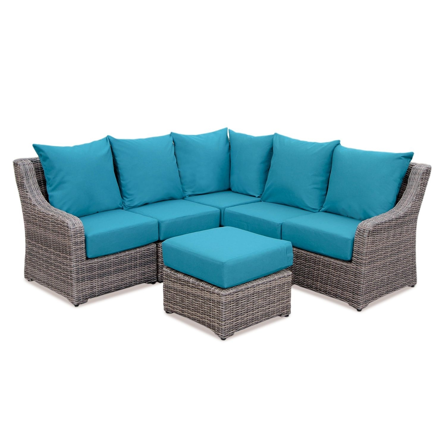 Cedar Grove 6-Piece Sectional With Sunbrella Fabric And Multiple within Sectional Sofas At Sam's Club (Image 6 of 15)