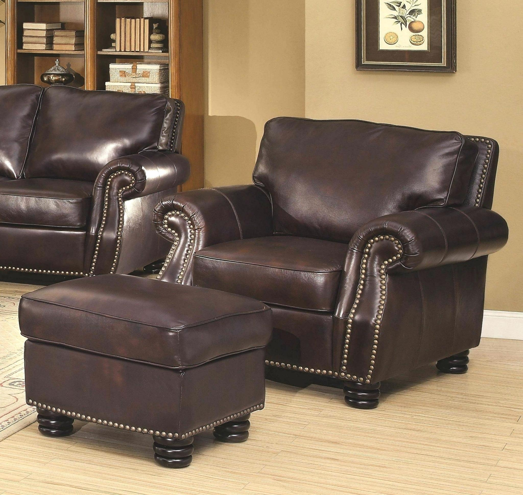 Chairs : Wingback Recliners Chairs Living Room Furniture Chair inside Chairs With Ottoman (Image 7 of 15)