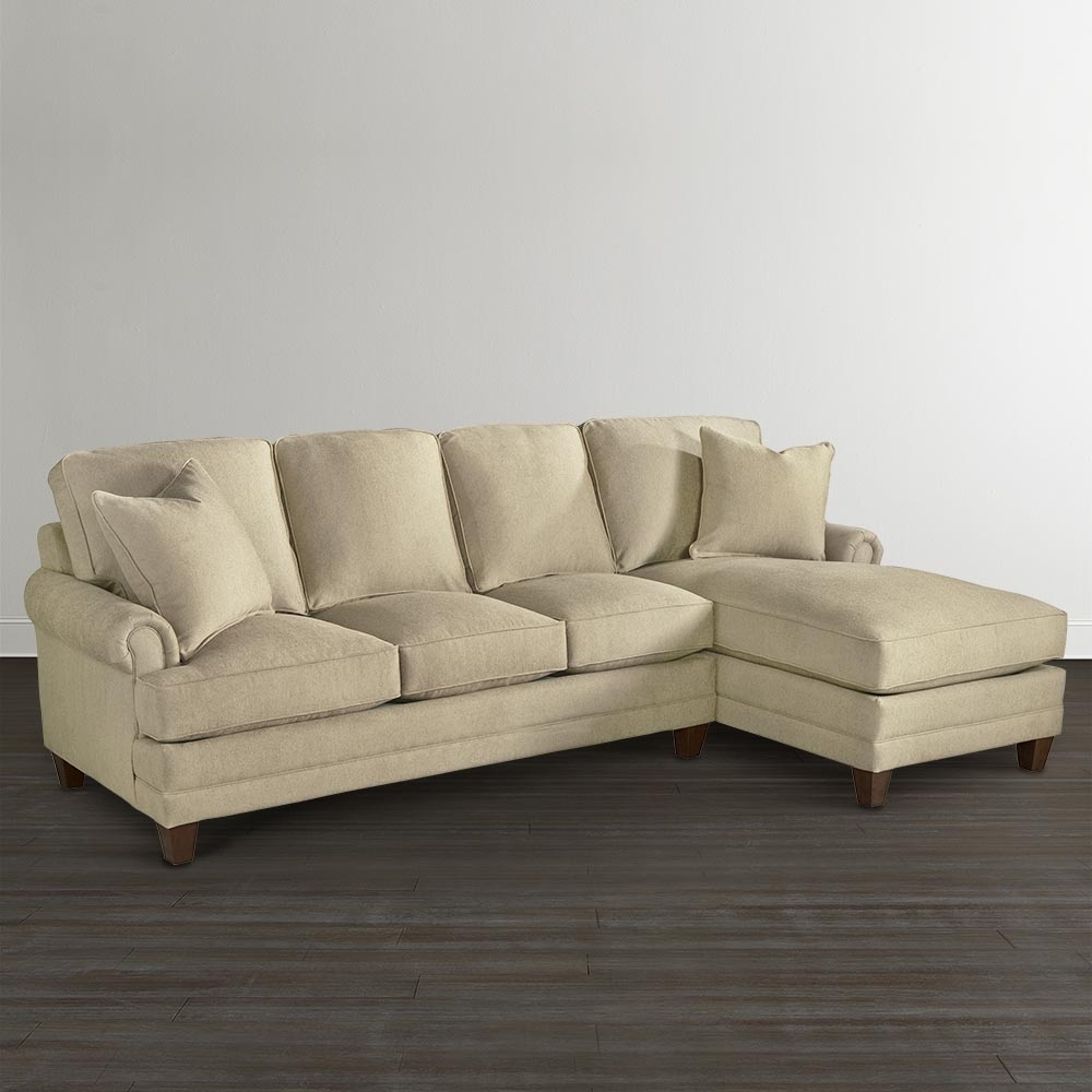 Chaise Upholstered Sectional | Bassett Furniture intended for Sectional Sofas at Bassett (Image 6 of 15)