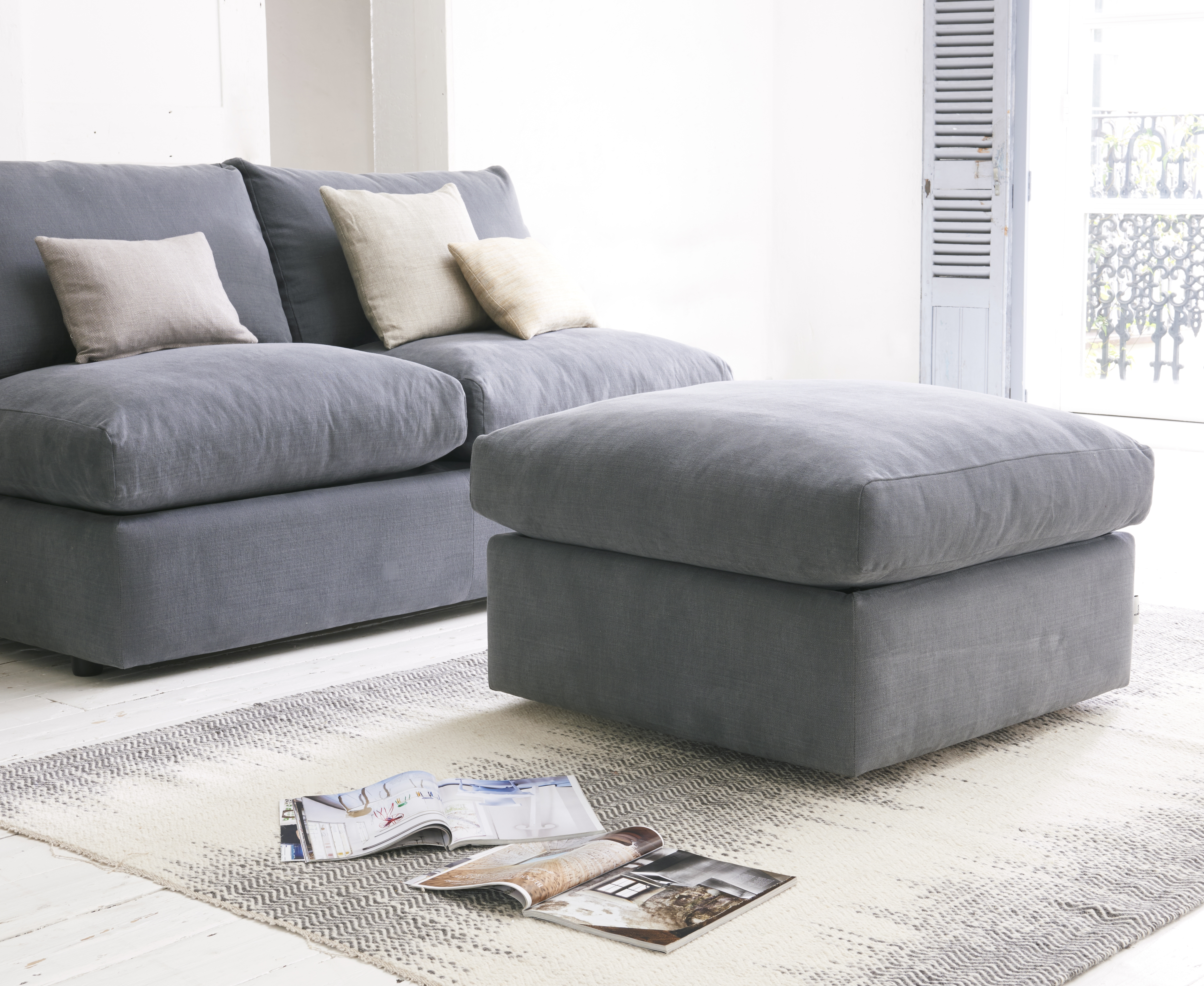 Chatnap Modular Sofa | Armless Sofa With Storage | Loaf | Loaf In Storage Sofas (View 2 of 10)