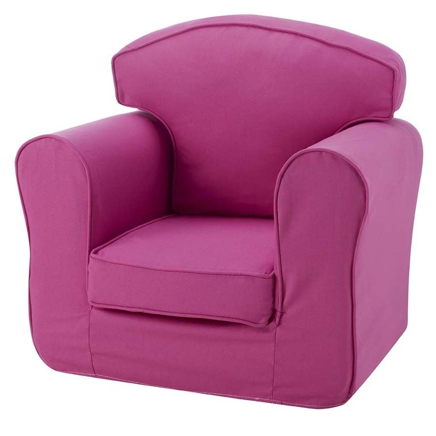 Children's Chair Single Sofa - Pink pertaining to Childrens Sofas (Image 1 of 10)