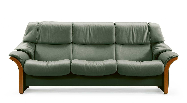 Circle Furniture – Eldorado Stressless Highback Sofa | Ekornes Sofas Ma In El Dorado Sectional Sofas (View 6 of 10)