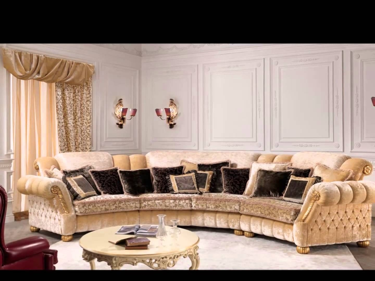 Classic Furniture Luxury Sofas Ravasi Salotti Youtube Classic Sofa pertaining to Luxury Sofas (Image 2 of 10)