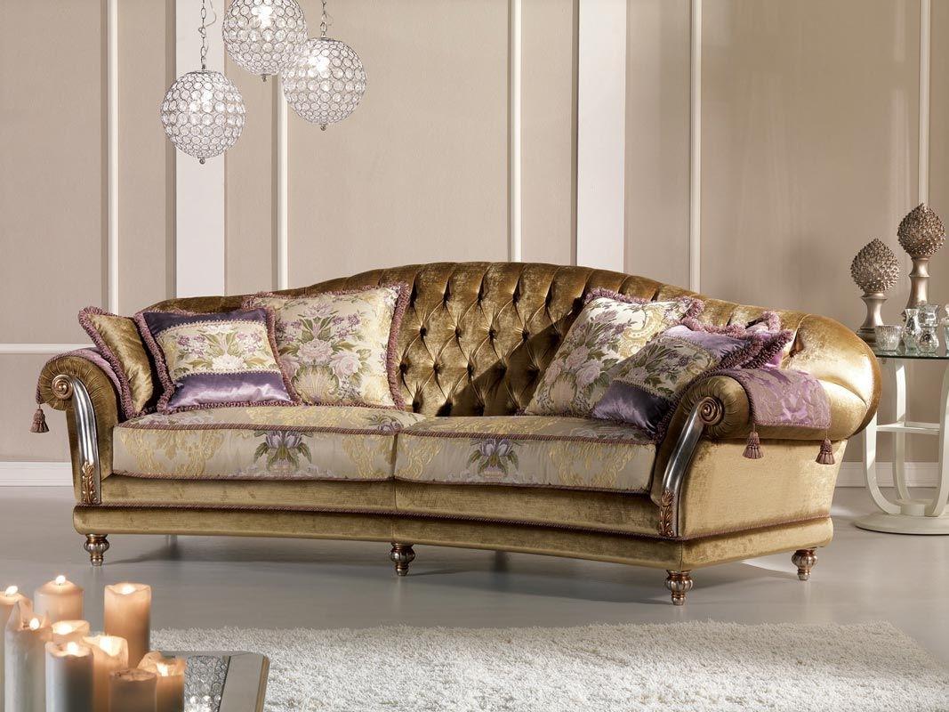 Classic Sofa / Velvet / 2 Seater – Etoile Ring – Pigoli Within Classic Sofas (View 2 of 10)