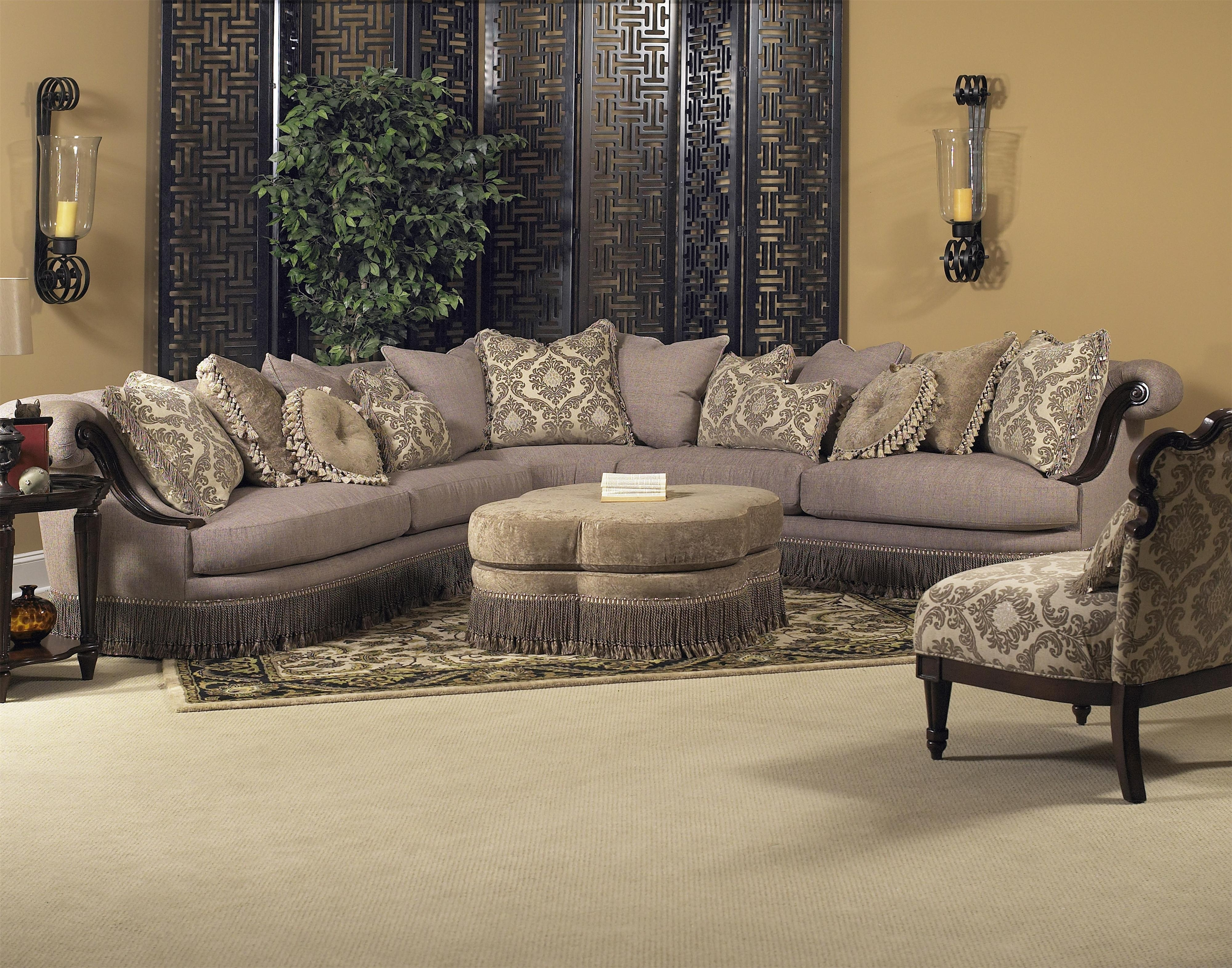 Classic Wellingsley Sectionalfairmont Designs Available At Royal inside Sectional Sofas at Birmingham Al (Image 3 of 15)