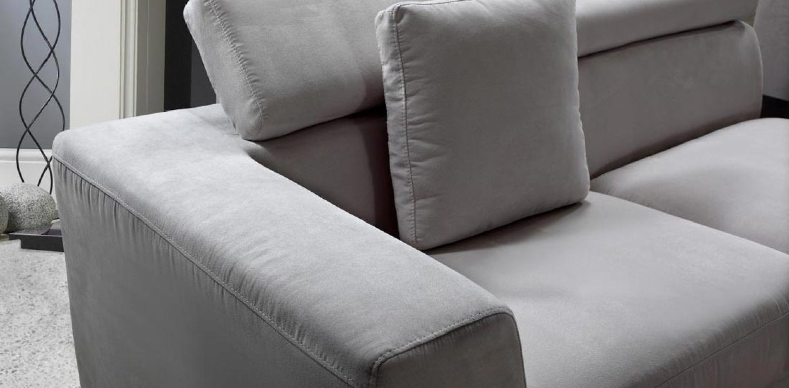 Cleaner : Cool Modern Sectional Sofa Grey Microfiber Vg Fort 16 inside Modern Microfiber Sectional Sofas (Image 2 of 10)