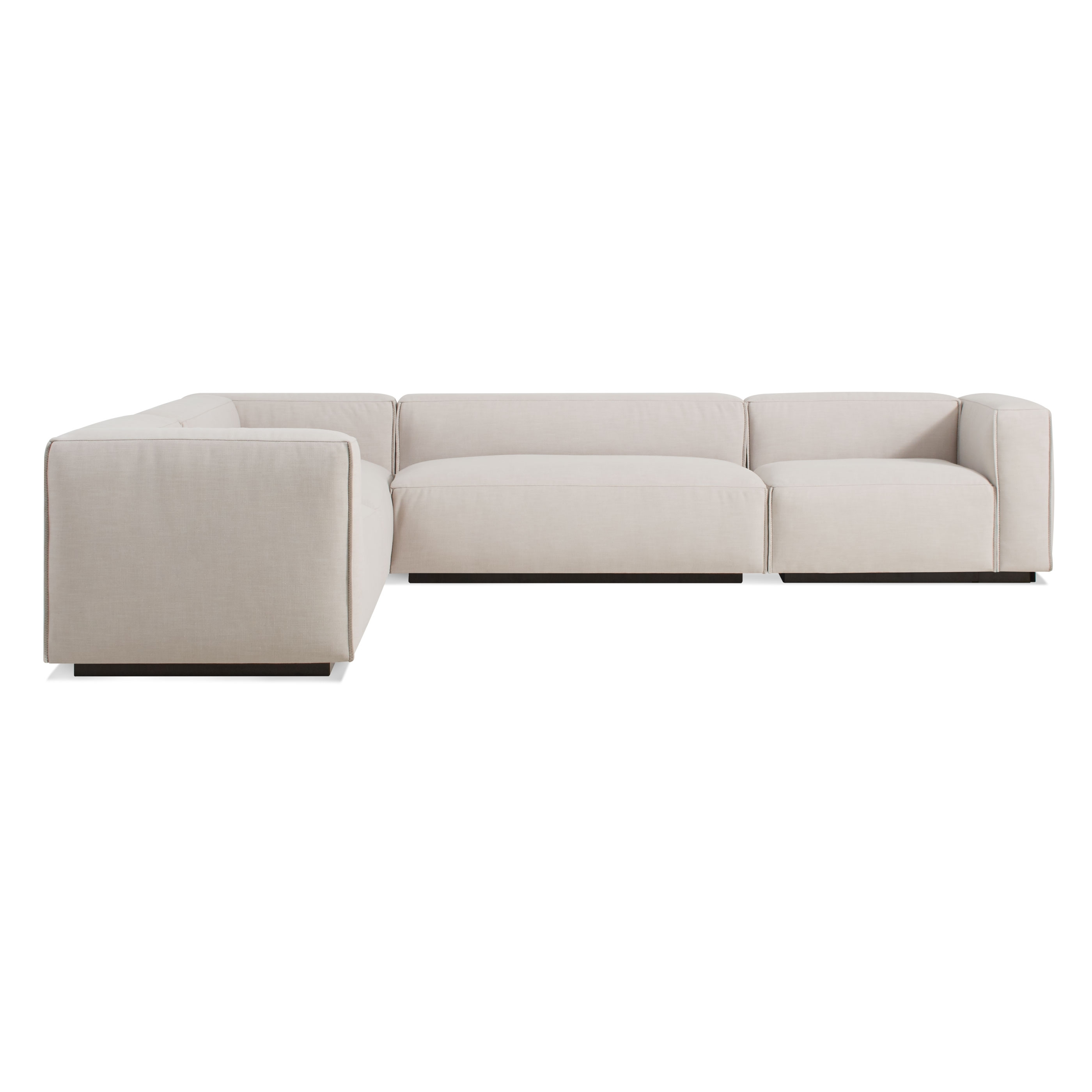 Cleon Large Modern Sectional Sofa | Blu Dot Inside Newfoundland Sectional Sofas (View 8 of 10)