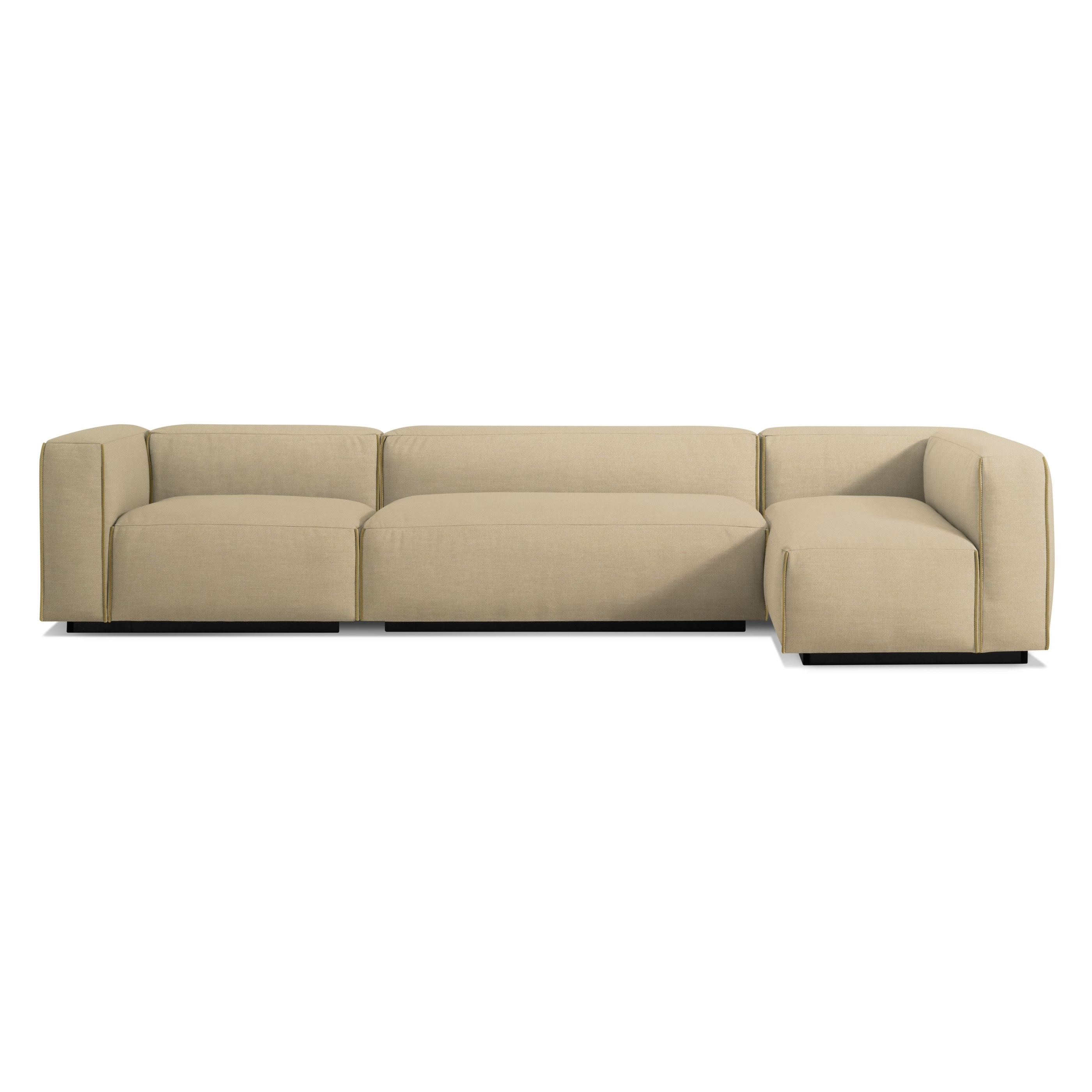 Cleon Medium+ Sectional Sofa – Modern Sofas And Sectionals – Bludot In Newfoundland Sectional Sofas (View 7 of 10)