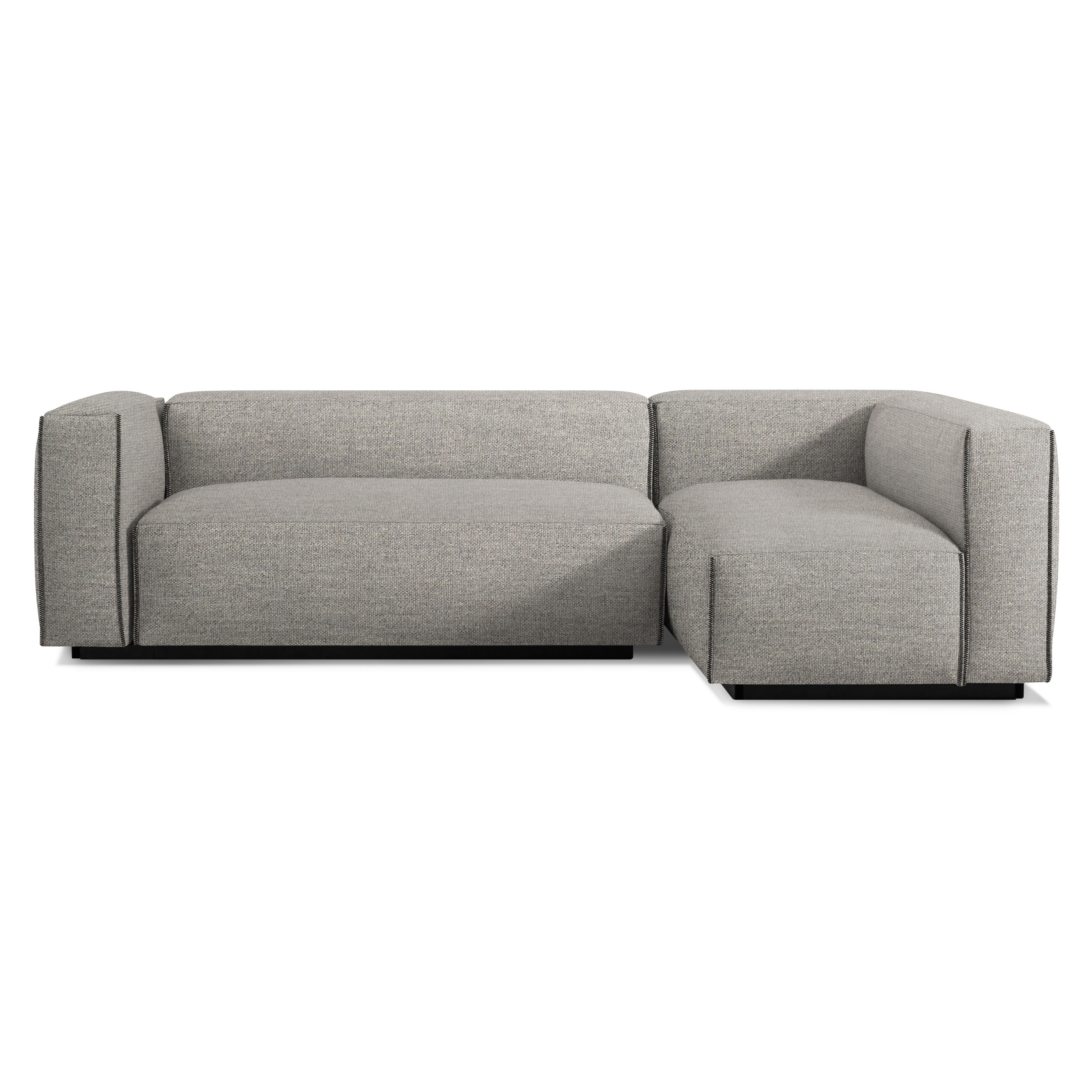Cleon Small Modern Sectional Sofa | Blu Dot Pertaining To Newfoundland Sectional Sofas (View 4 of 10)