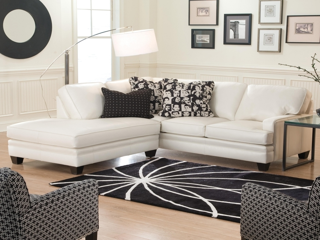 Comfy Sofas For Small Spaces White Sofa Leather Sectionals Sale with regard to Sectional Sofas For Small Areas (Image 4 of 10)