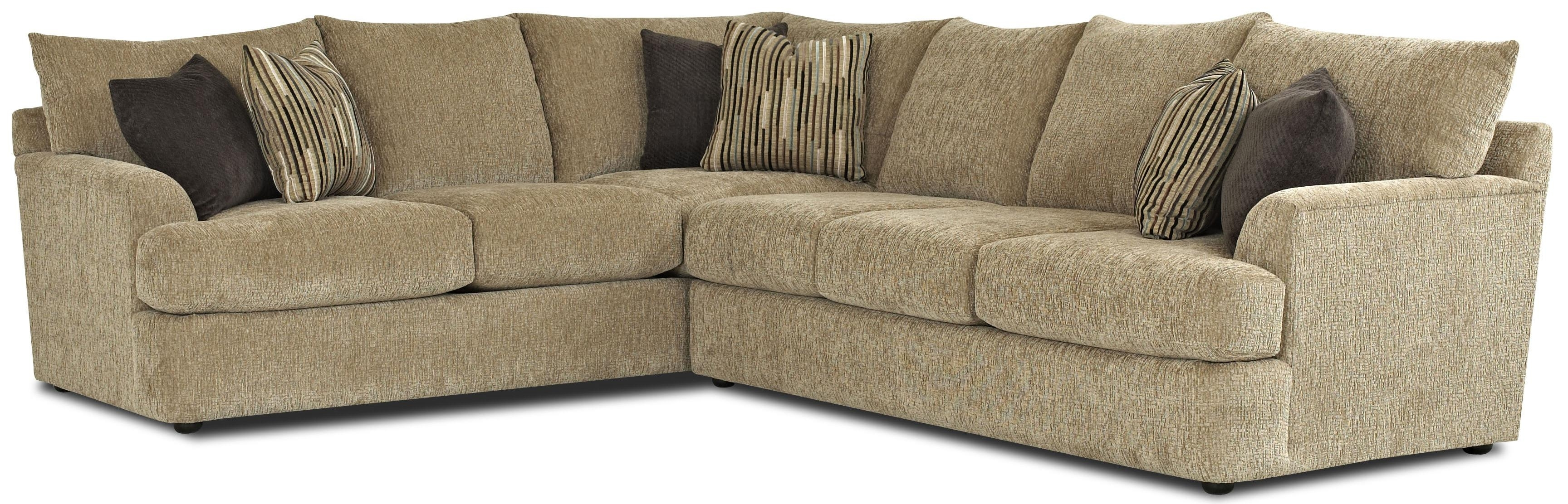 Contemporary L-Shaped Sectional Sofaklaussner | Wolf And pertaining to L Shaped Sectional Sofas (Image 2 of 10)