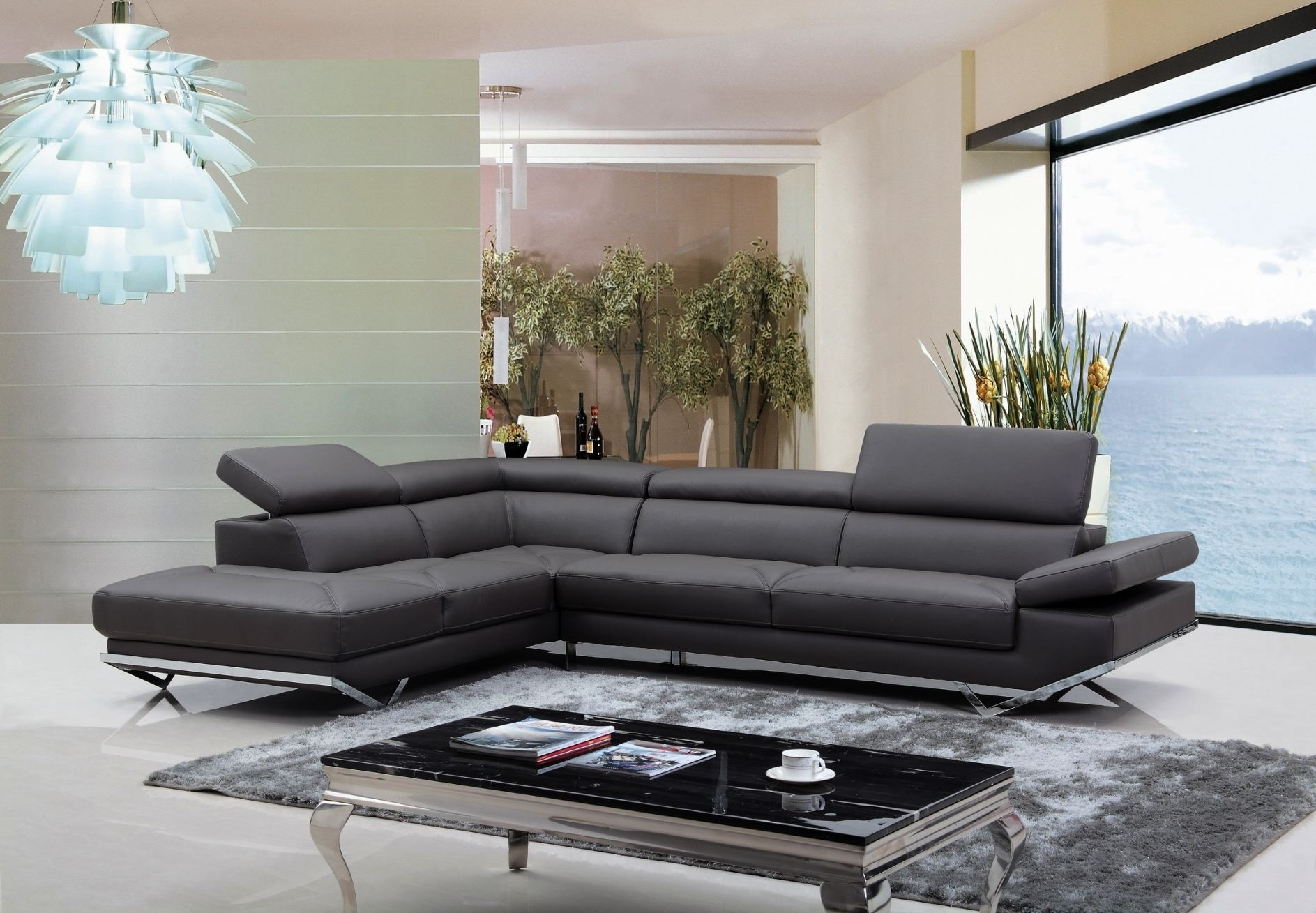 Contemporary Leather Sofas Italian Sofa Uk Modern Furniture High Inside High Point Nc Sectional Sofas (View 6 of 10)