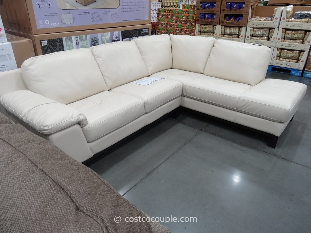 Costco Leather Sectional Sofa – Radiovannes Inside Sectional Sofas At Costco (View 6 of 15)