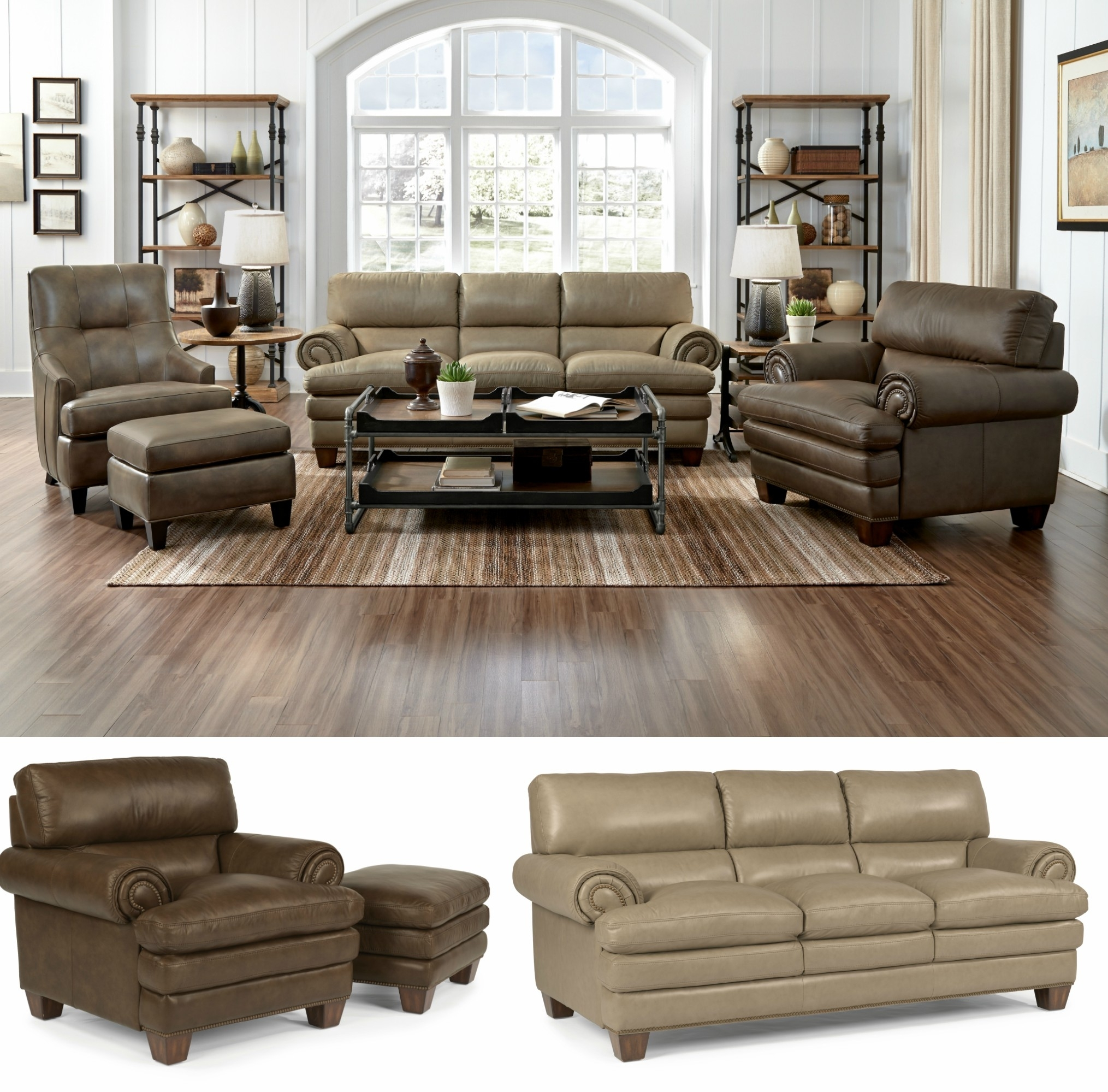 Cozy Overstuffed Leather Sofa Brown With Marvellous Decoration Camel pertaining to Camel Colored Sectional Sofas (Image 6 of 10)