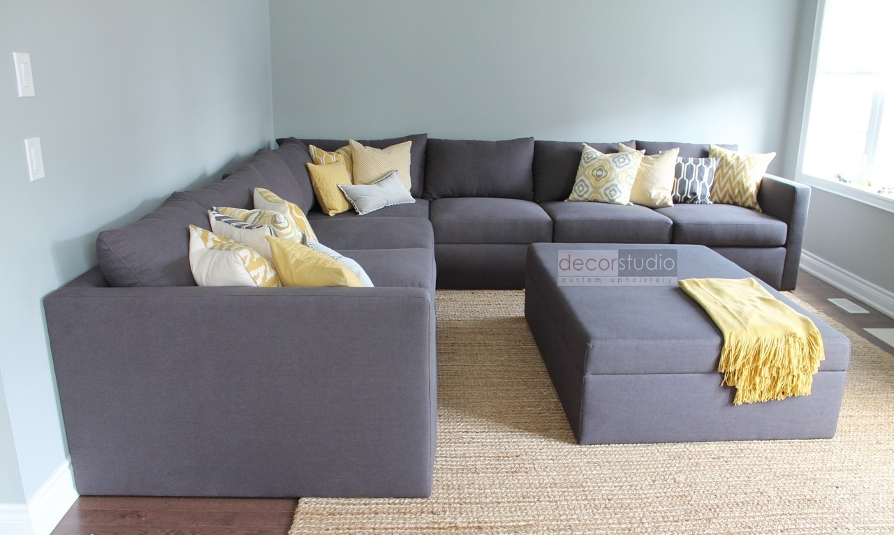Custom Sectionals – Decor Studio Custom Upholstery Pertaining To Ontario Canada Sectional Sofas (View 2 of 10)