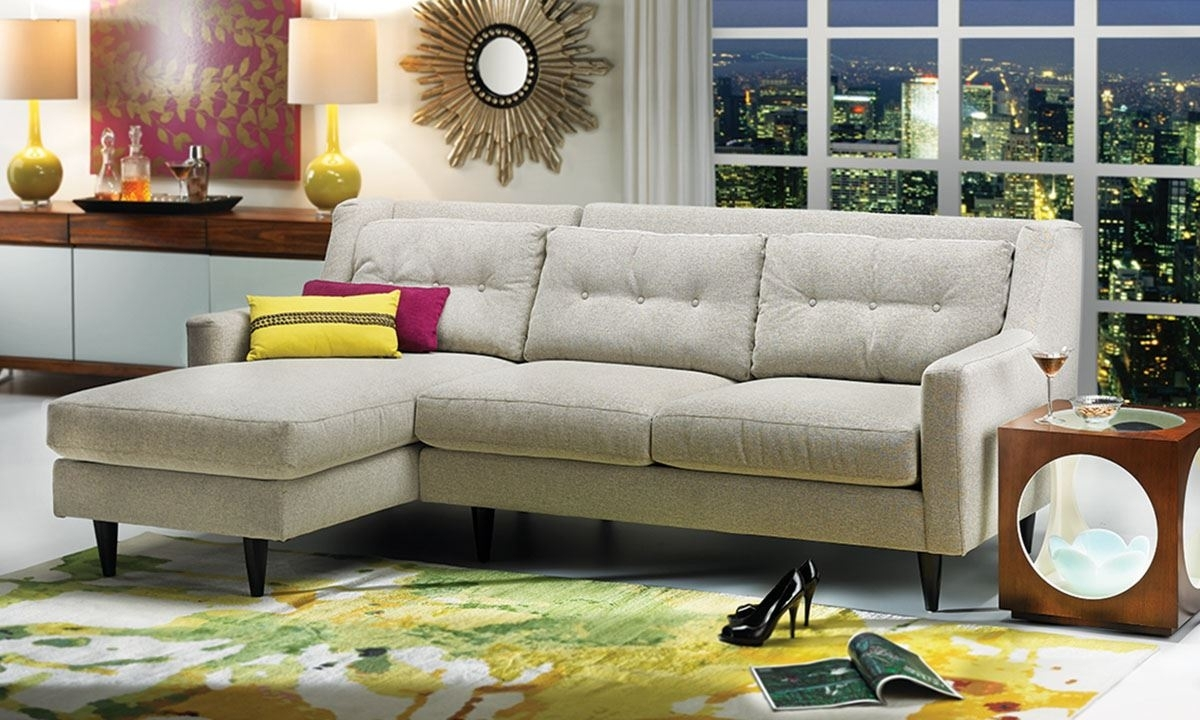 Del Rey Chaise Sectional Sofa | Haynes Furniture, Virginia's For Virginia Sectional Sofas (View 4 of 10)