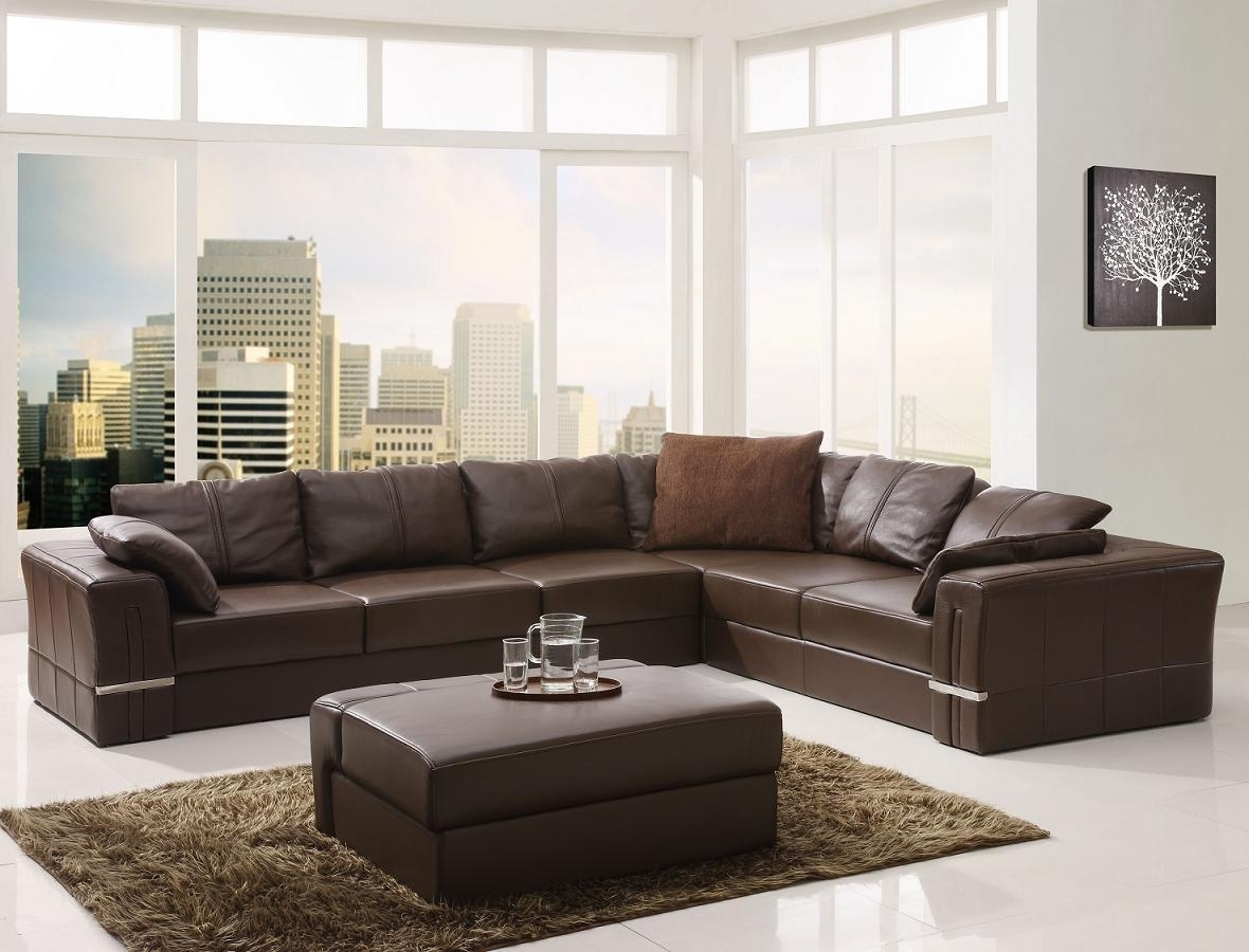 Design Leather Sectional Sofa • Sectional Sofa With Sectional Sofas Under (View 2 of 10)