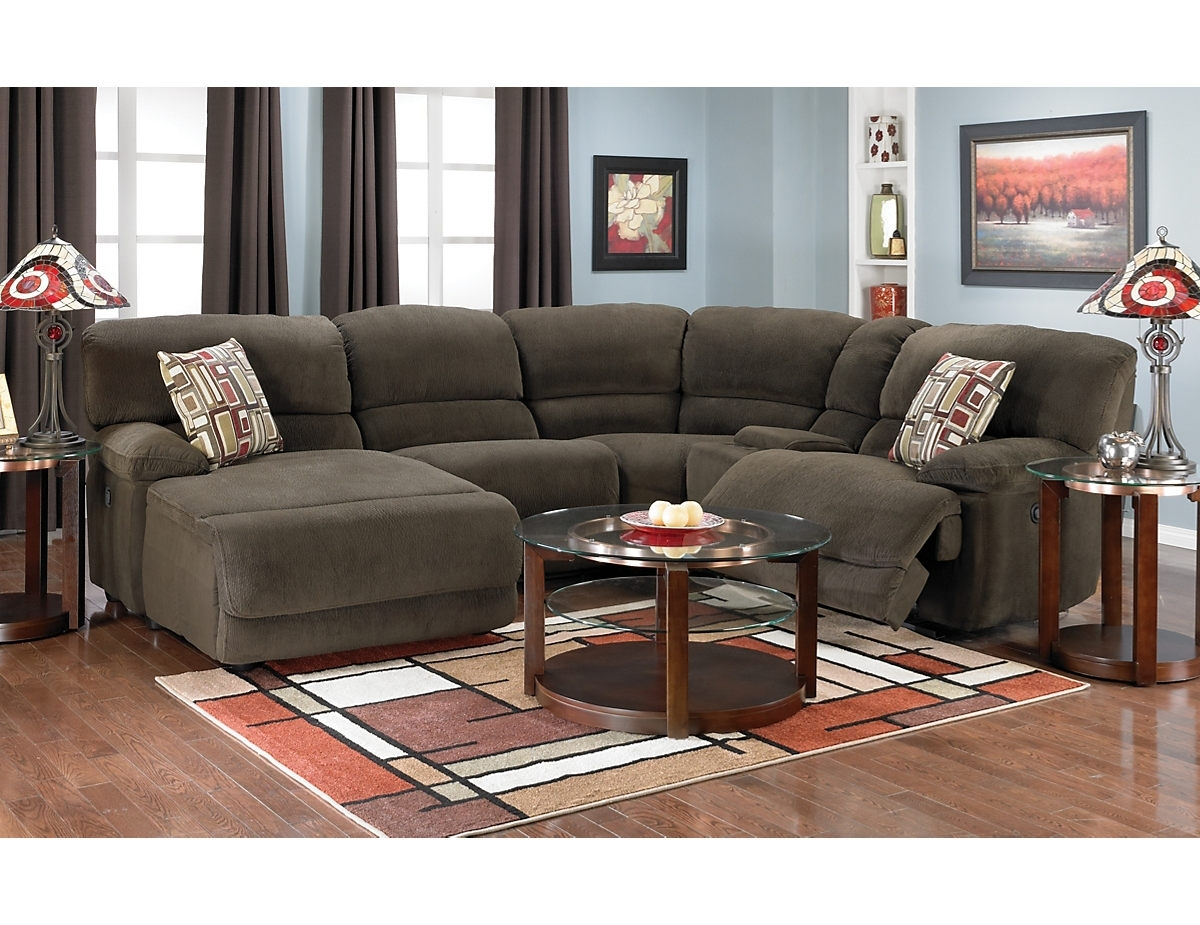 Devon 5 Piece Home Theatre Sectional, (Devonsec5) | The Brick throughout The Brick Sectional Sofas (Image 4 of 10)