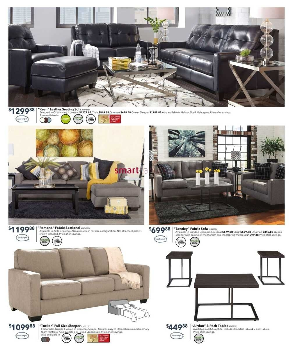 Dufresne Flyer November 3 To 16 for Dufresne Sectional Sofas (Image 5 of 10)
