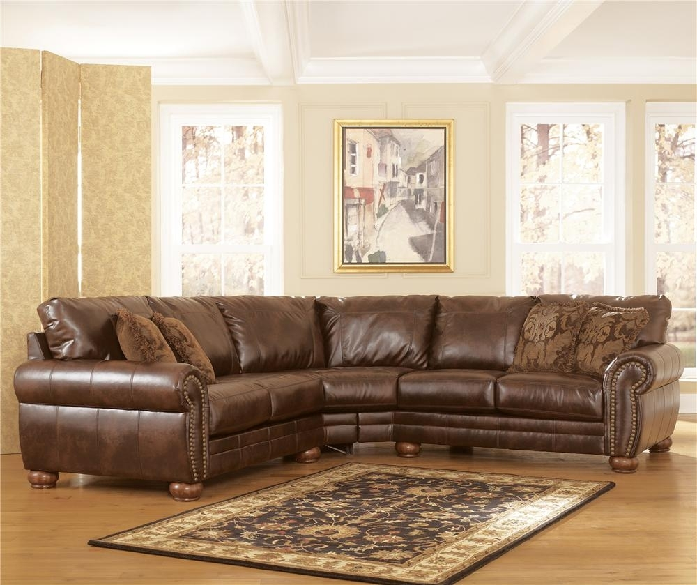 Durablend - Antique Stationary Sofa Sectionalsignature Design with regard to Jackson Ms Sectional Sofas (Image 3 of 10)