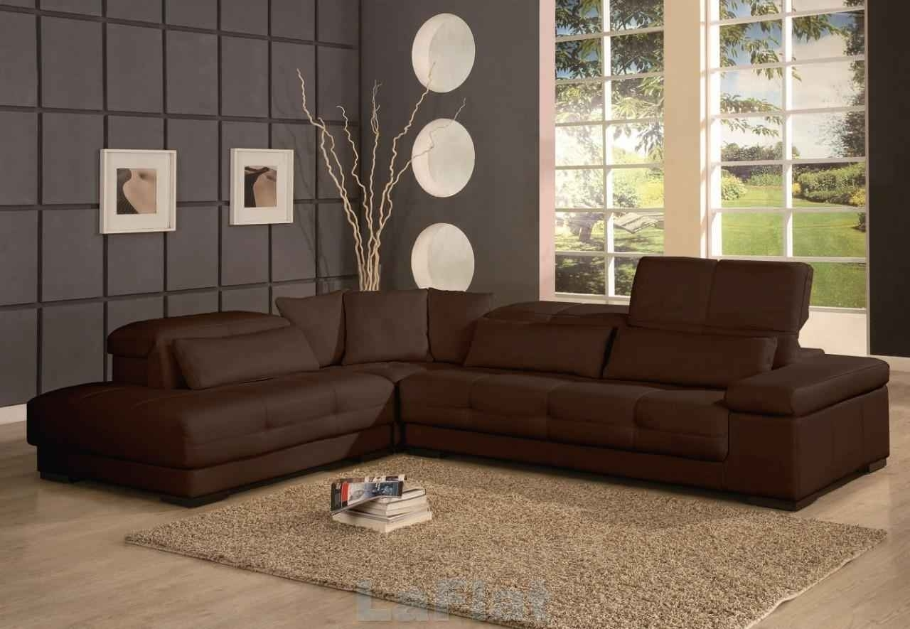 Elegant Chocolate Brown Sectional Sofas 20 For Sectional Sofas Tulsa throughout Chocolate Brown Sectional Sofas (Image 6 of 10)
