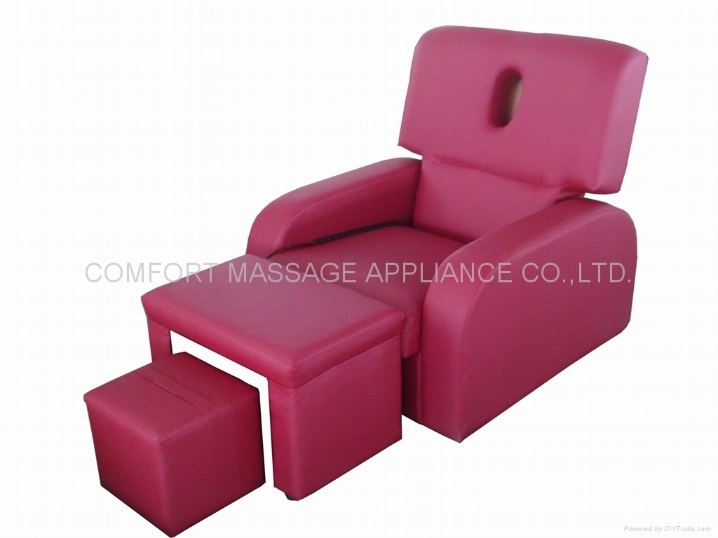 Elegant Electric Foot Massage Sofa With Face Hole   Sf 005   No.1St Intended For Foot Massage Sofas (Photo 7 of 10)
