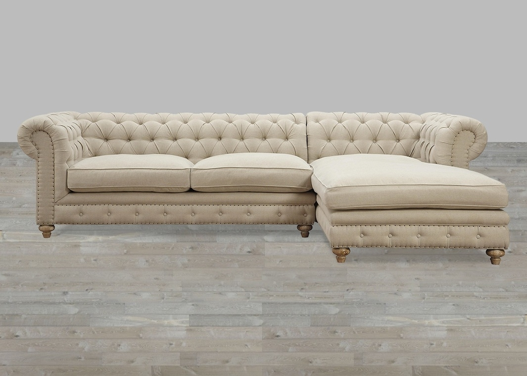Elegant Sectional Sofa With Nailhead Trim 97 For Sofa Design Ideas Within Sectional Sofas With Nailhead Trim (Photo 6 of 10)