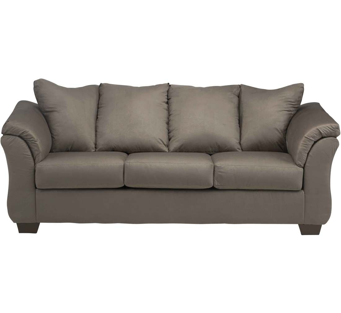 Emma Grey Loveseat | Badcock &more With Regard To Sectional Sofas At Badcock (View 11 of 15)
