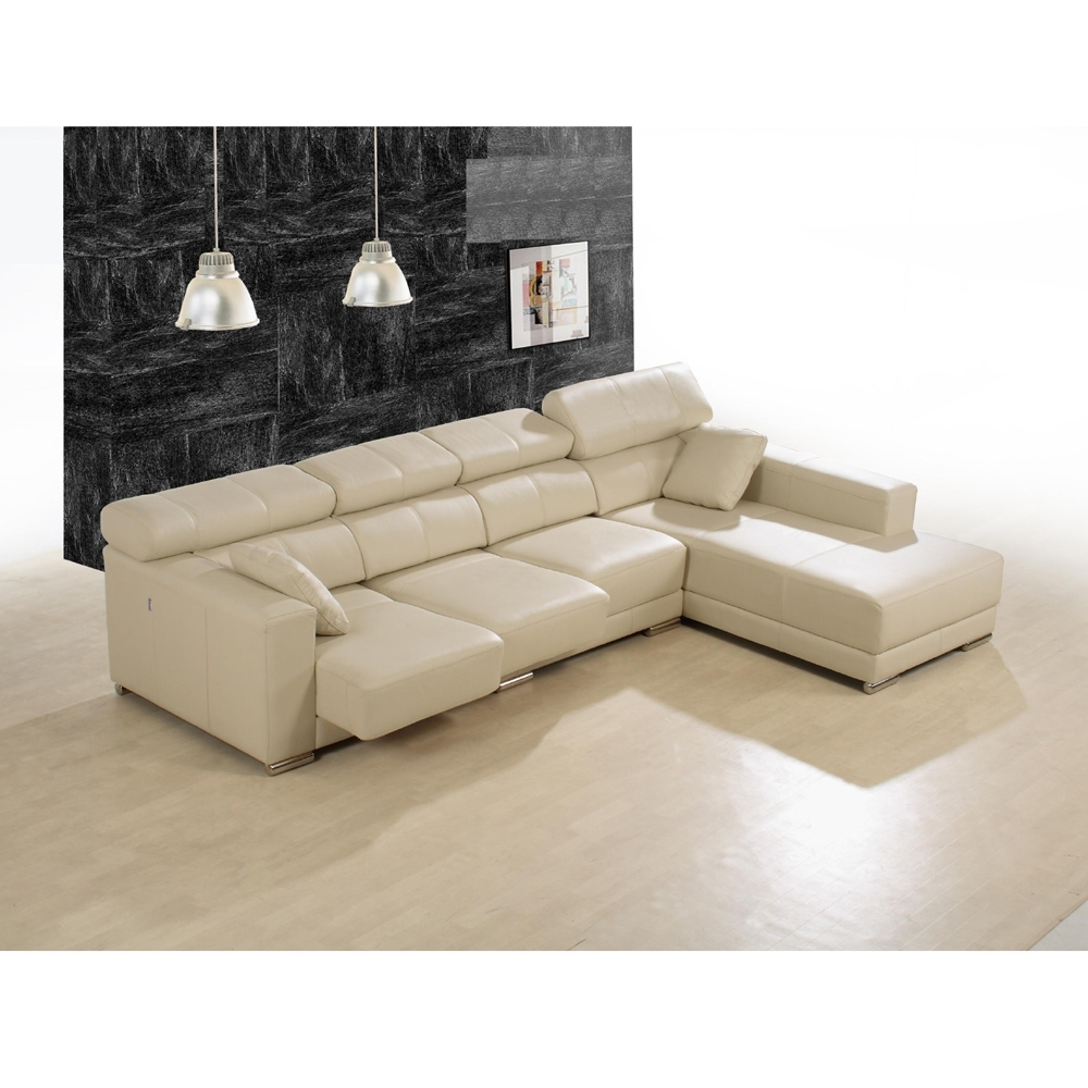 Enzo Leather Sectional Sofa | Modern Sectional Sofas Vancouver Throughout Vancouver Sectional Sofas (Photo 4 of 10)