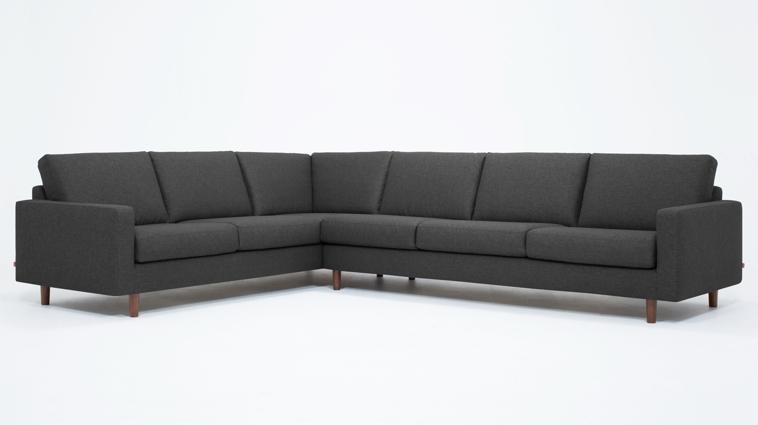 Eq3 | Oskar 2 Piece Sectional Sofa – Fabric With Regard To Eq3 Sectional Sofas (View 5 of 10)