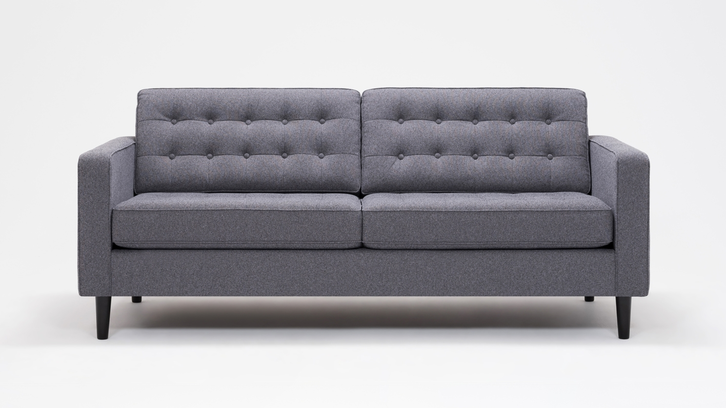 Eq3 | Reverie Apartment Sofa - Fabric within Apartment Sofas (Image 7 of 10)