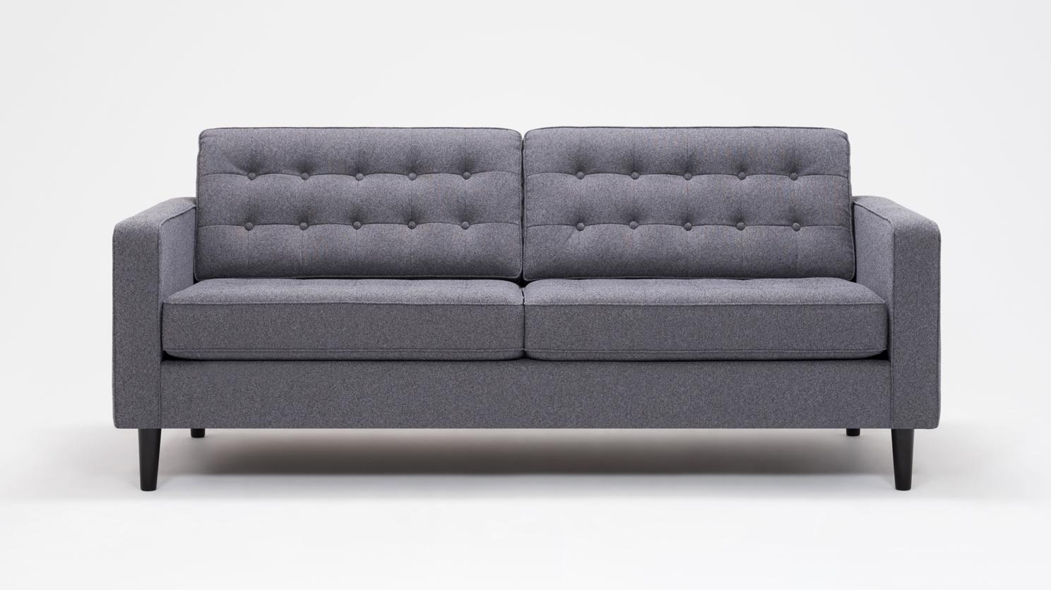 Eq3 | Reverie Apartment Sofa   Fabric Within Apartment Sofas (Photo 7 of 10)