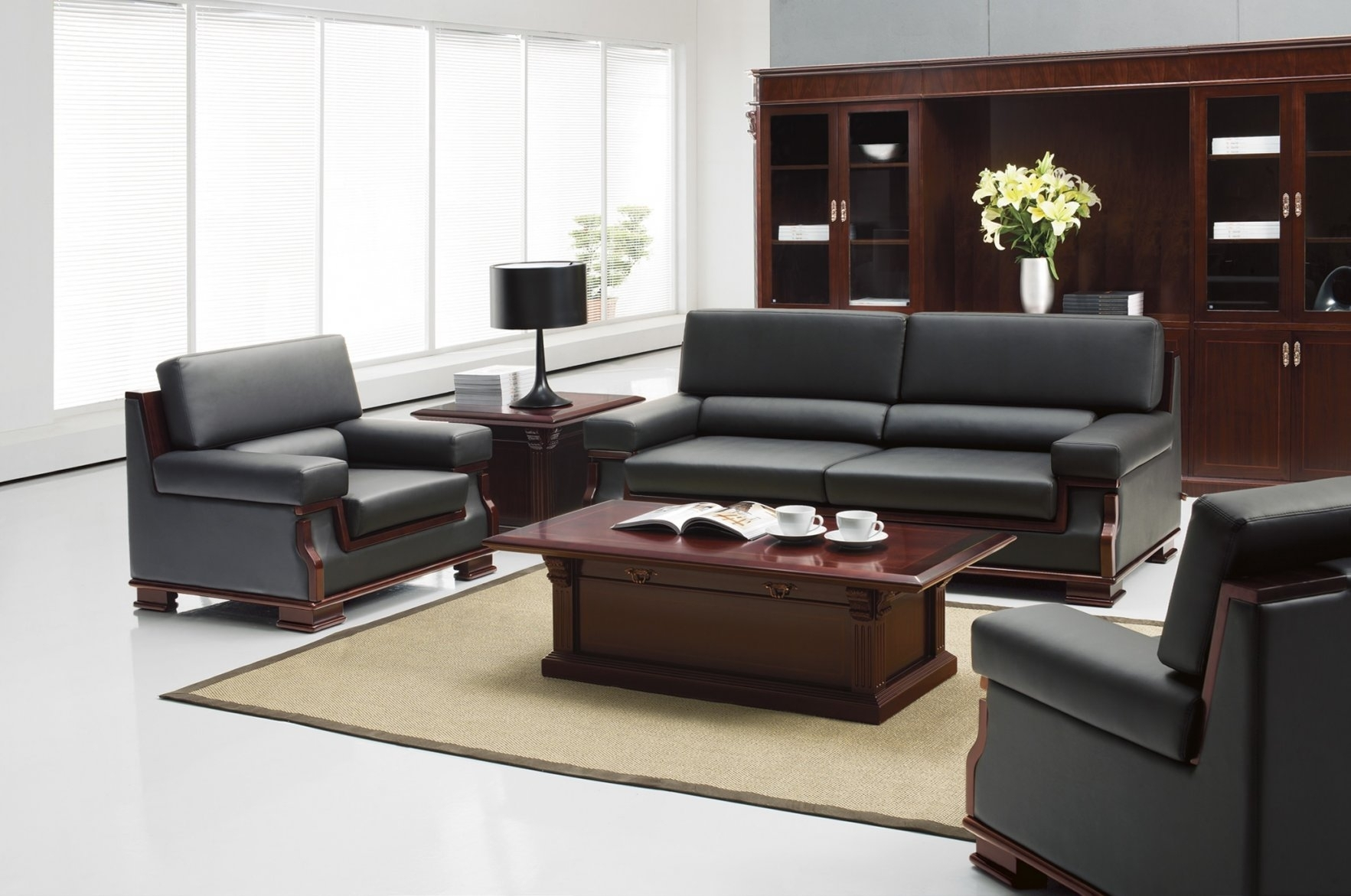 Executive Sofa | Contemporary Office Sofas Intended For Contemporary With Office Sofas (Photo 6 of 10)