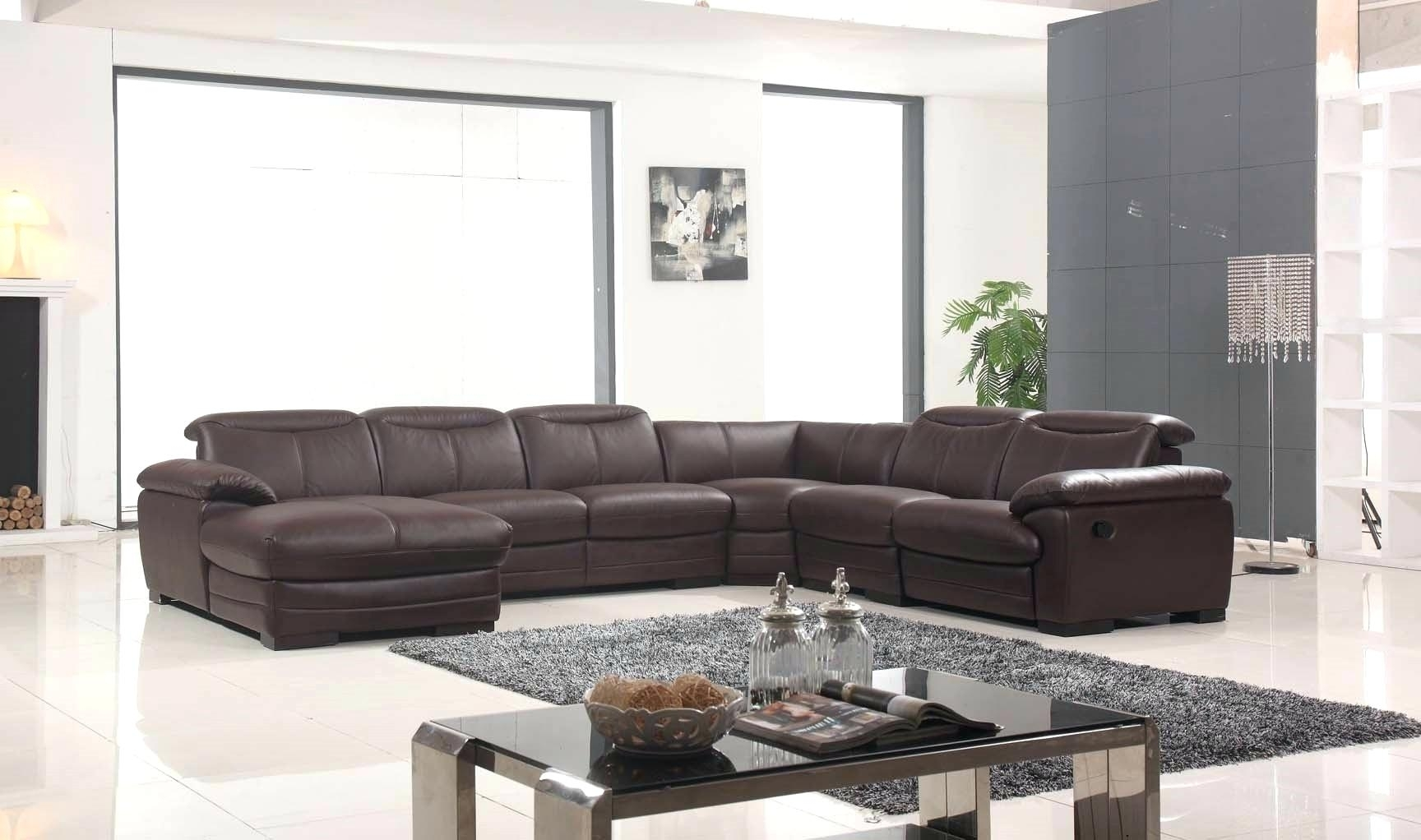 Extra Large Sectional Sofas Leather Couches With Recliners Modern intended for Extra Large U Shaped Sectionals (Image 3 of 15)