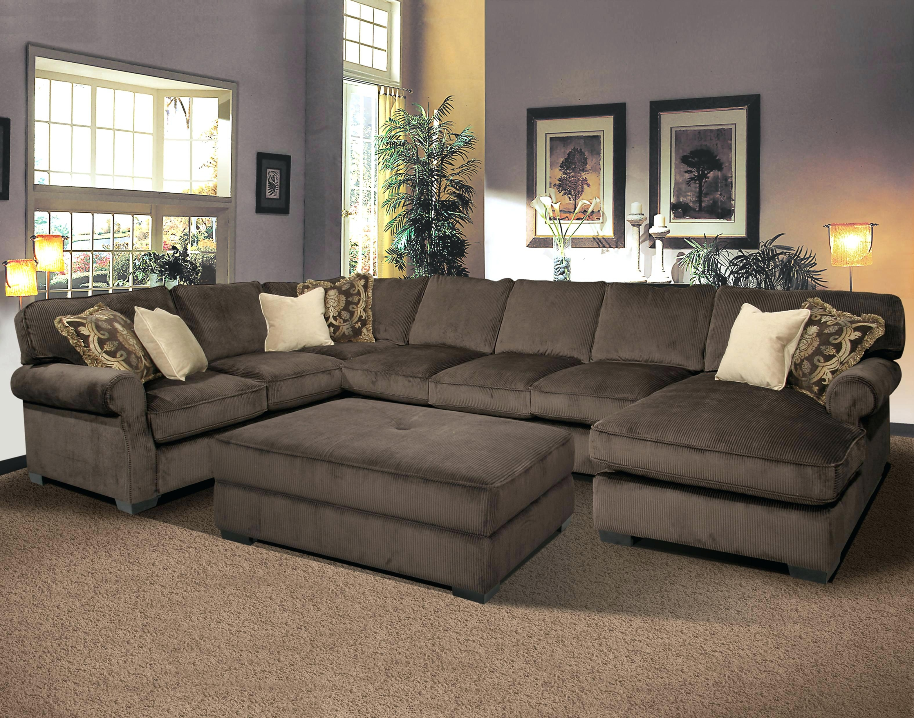 Extra Large Sectional Sofas Leather Couches With Recliners Modern throughout Large U Shaped Sectionals (Image 5 of 15)